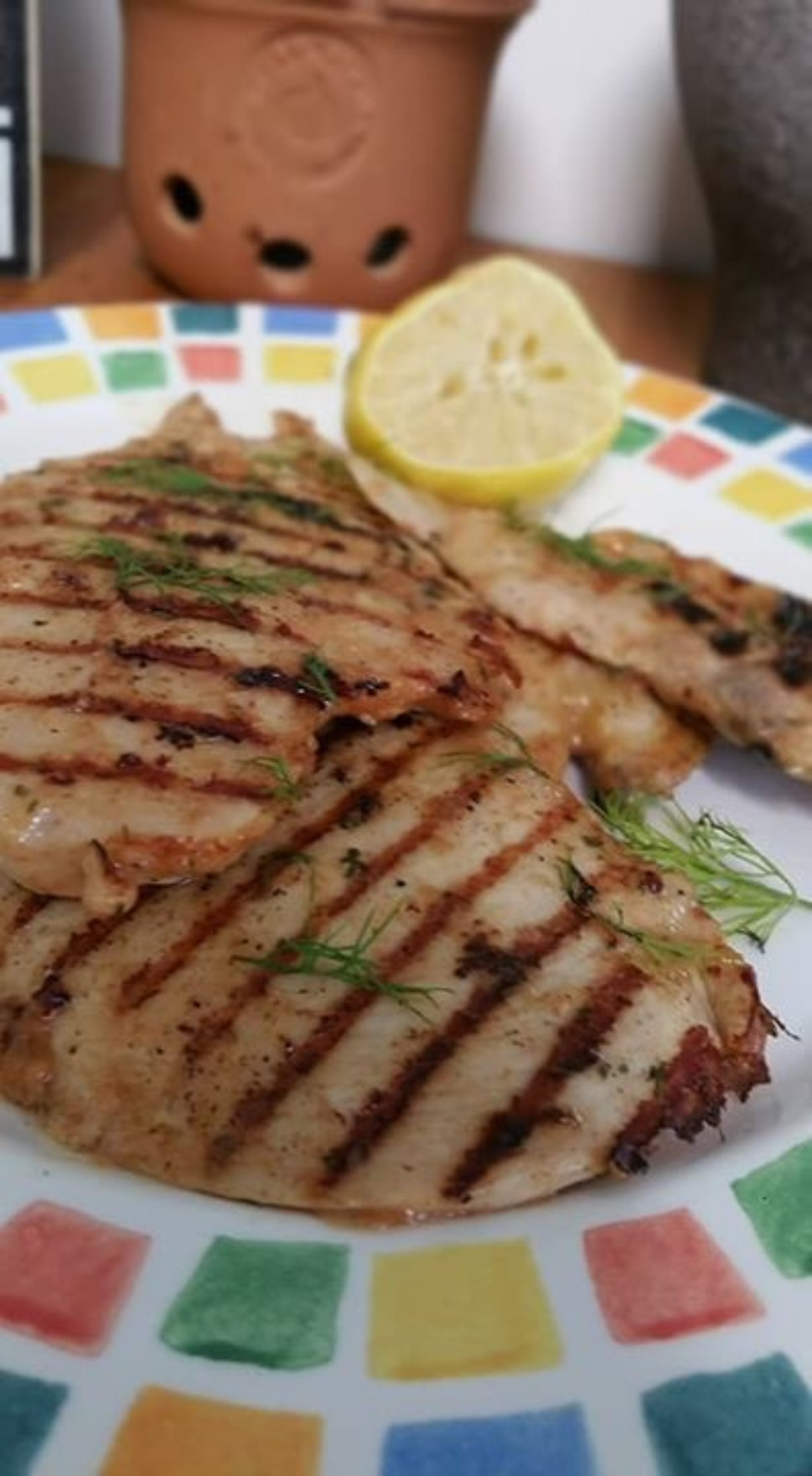 Easy Grilled Lemon Chicken