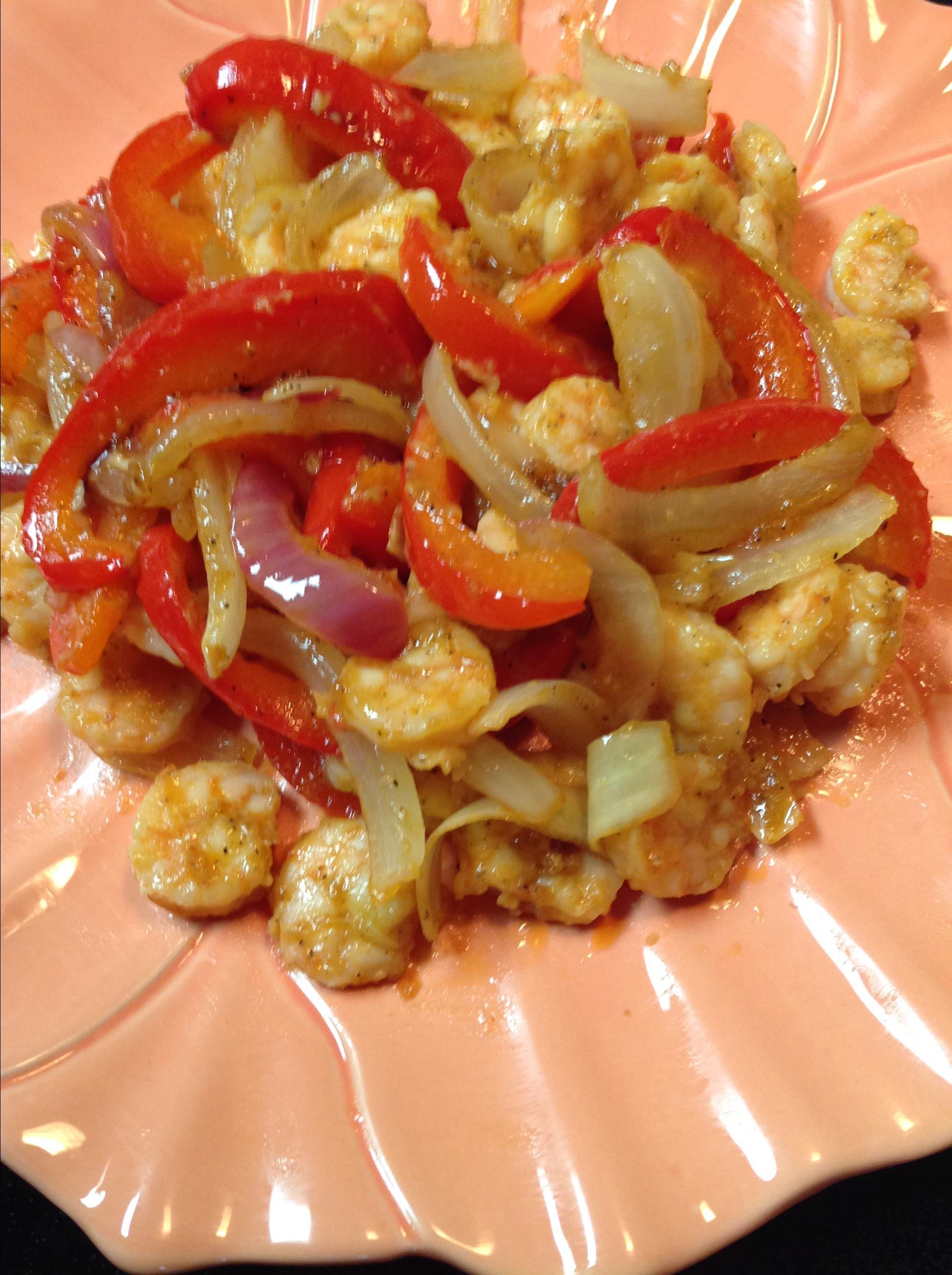 Sheet Pan Shrimp Fajitas Cliff G