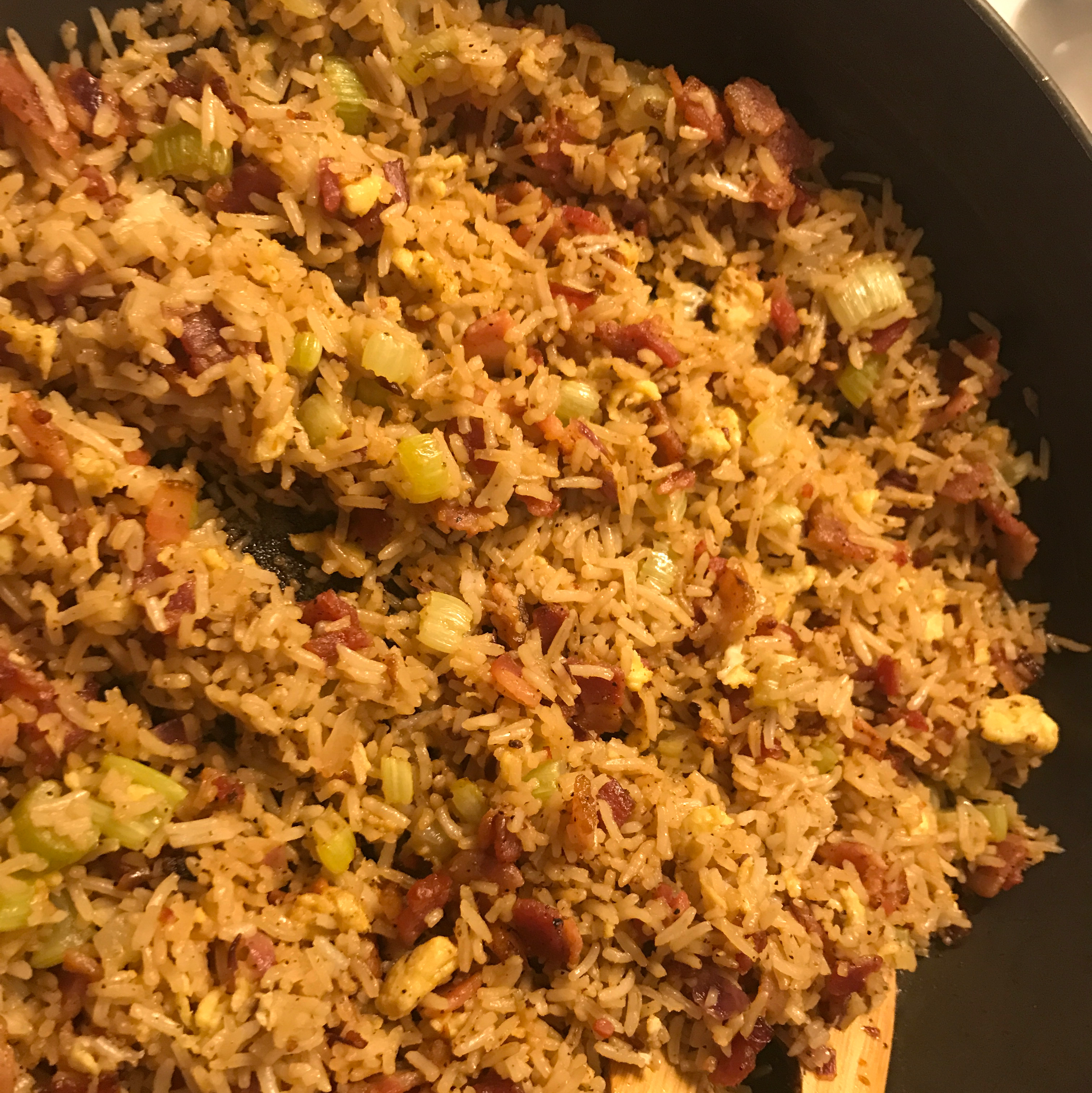 Easy Bacon Fried Rice