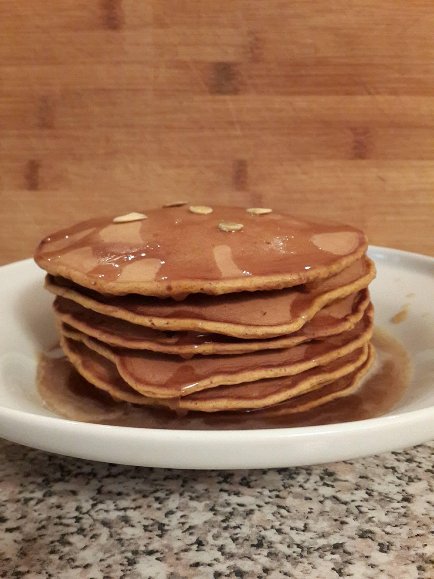Chef John's Pumpkin Pancakes Yuliia Shevchenko