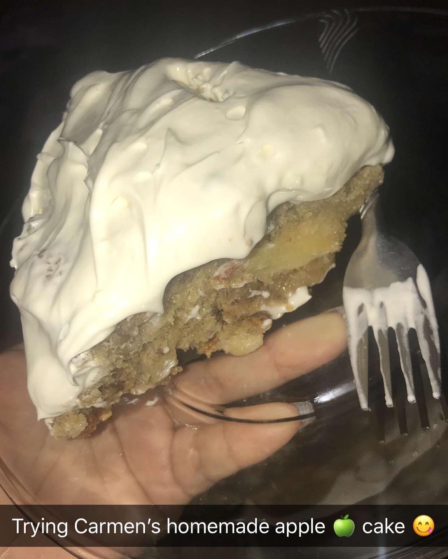 Washington Apple Cake Carmen Virginia Benavides