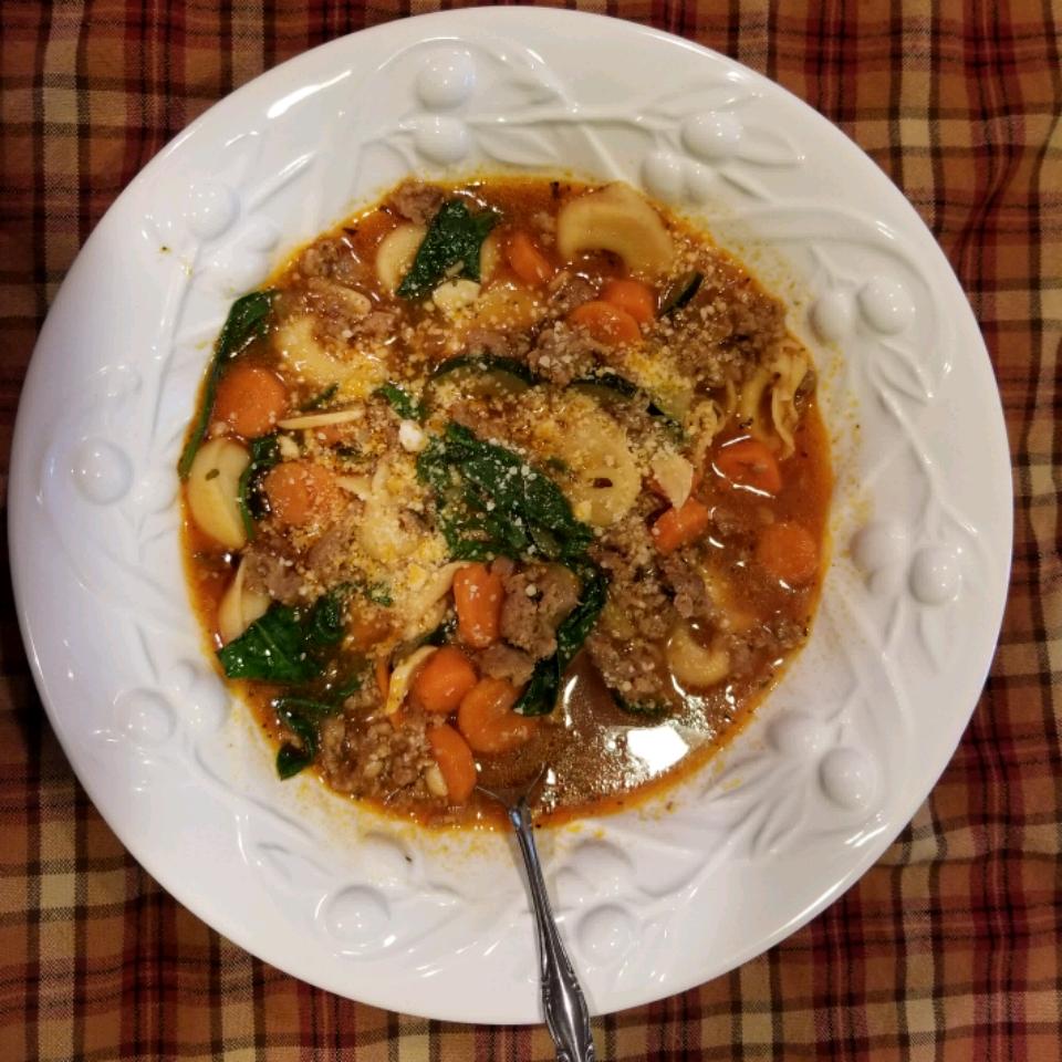 Tortellini Soup I produce
