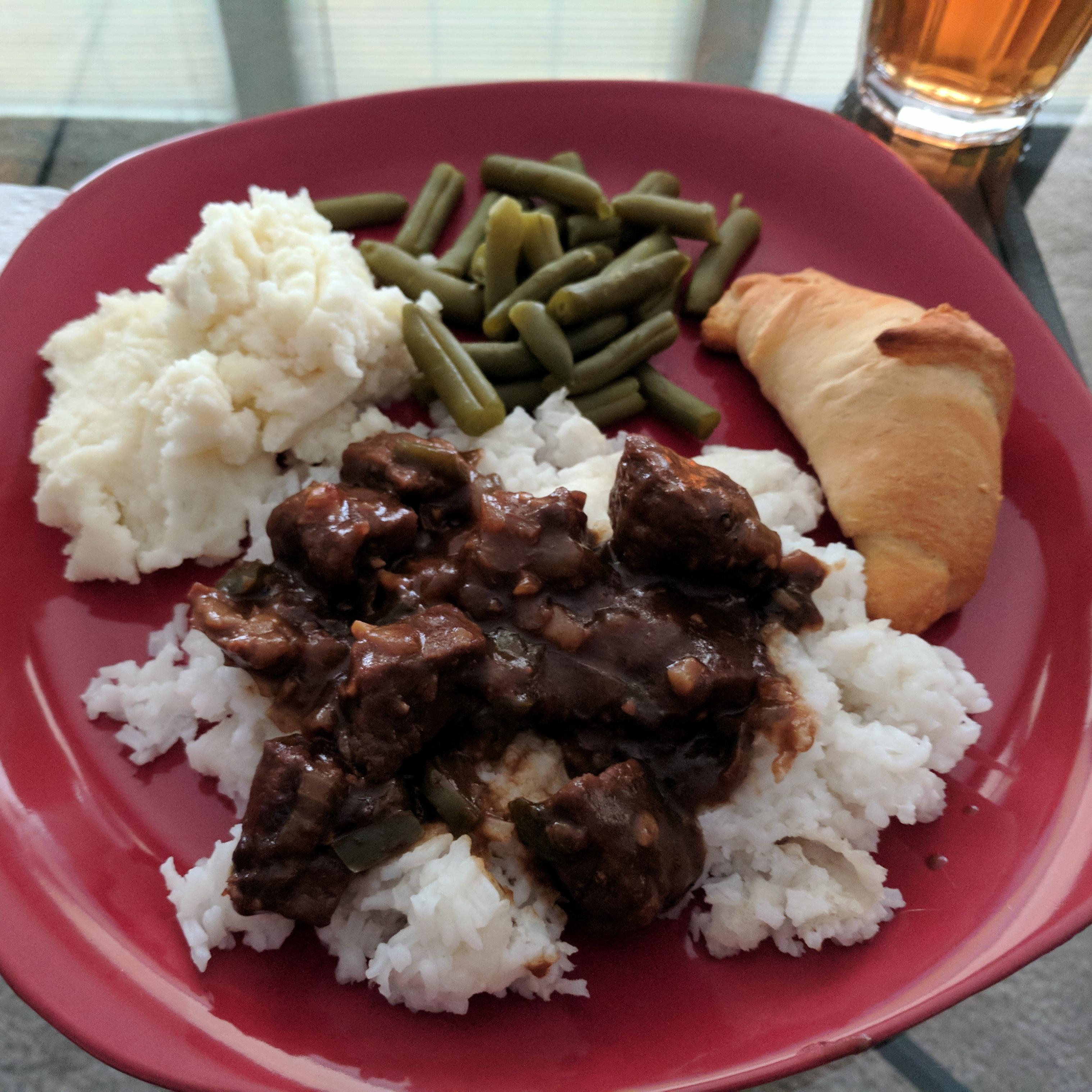 The Best No-Mushroom Beef Tips Jenny Skiles