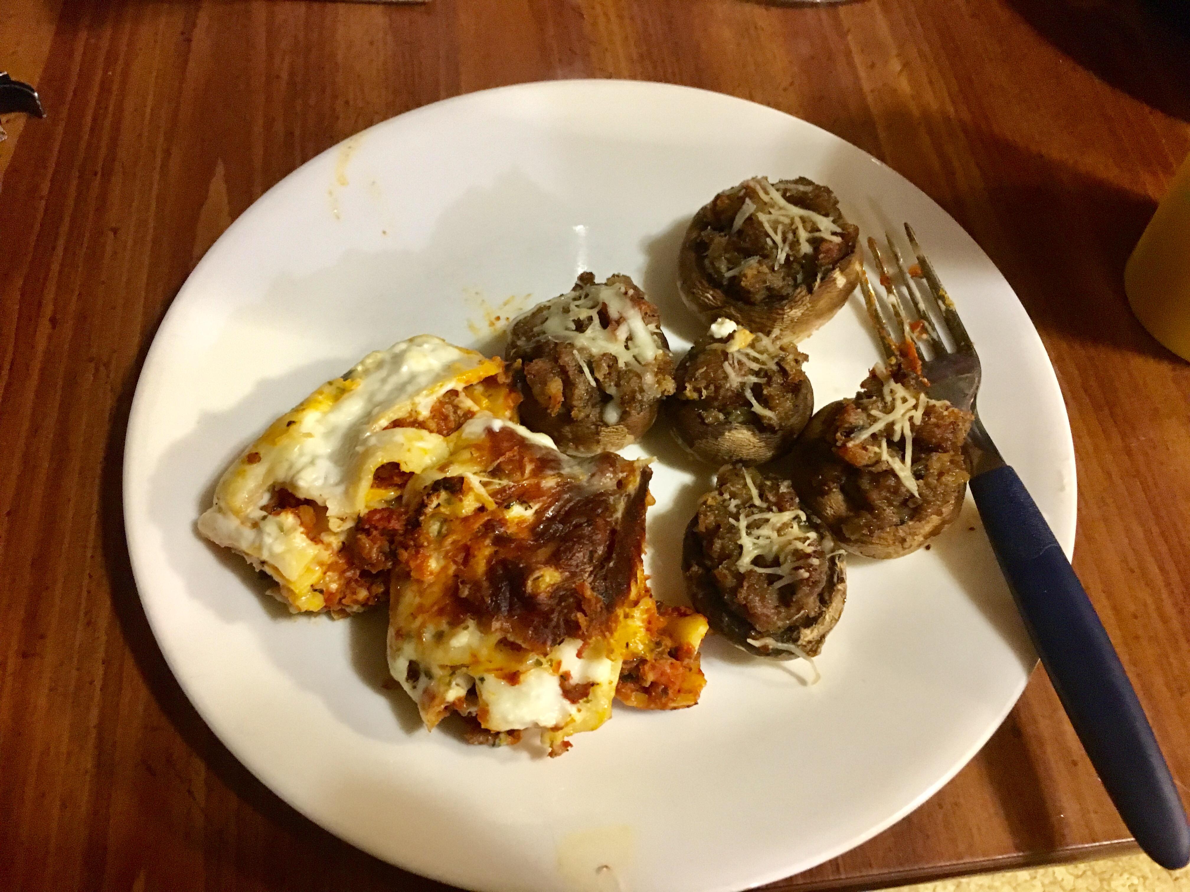 Easy Sausage Stuffed Mushrooms Anastasia Hunt
