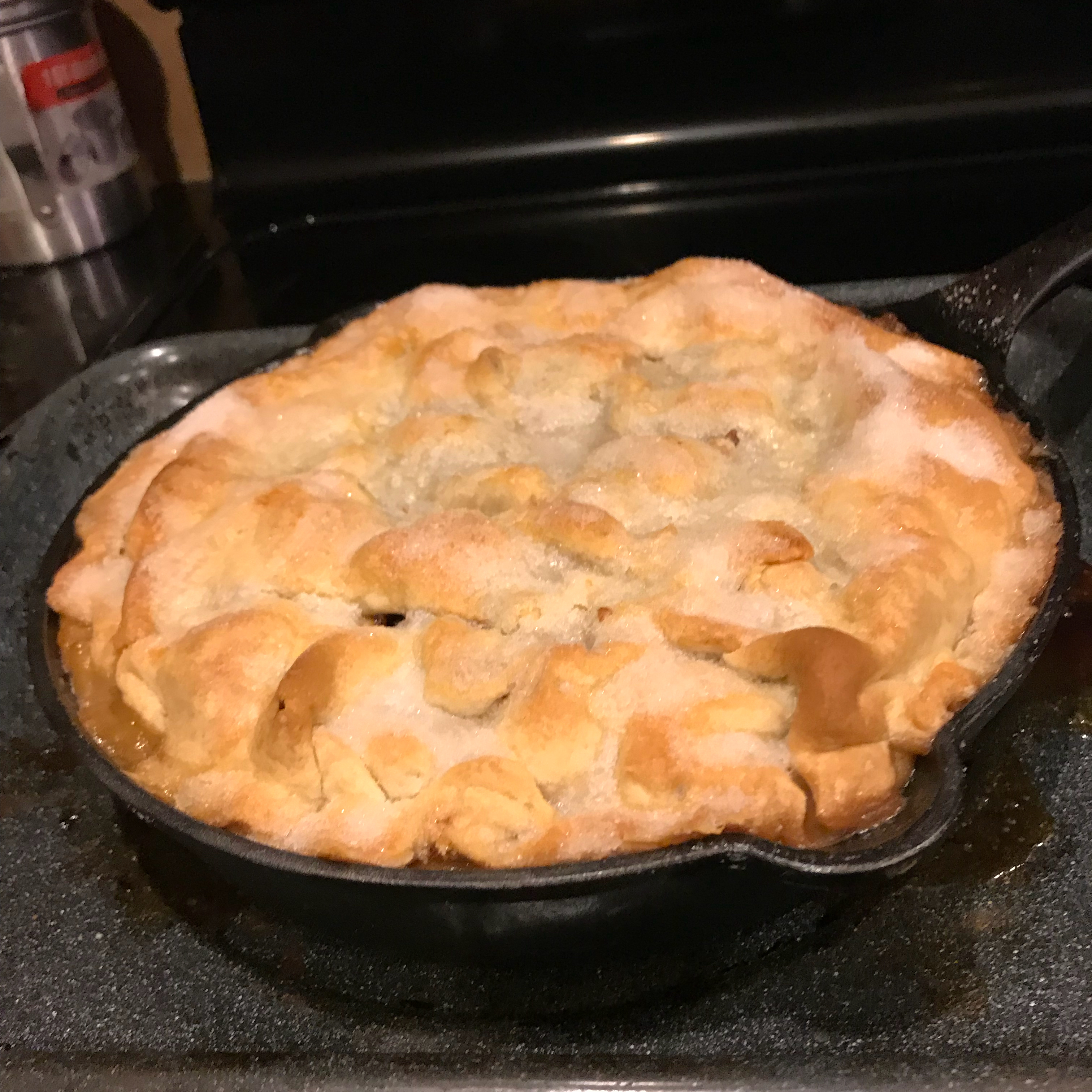 Grandma's Iron Skillet Apple Pie
