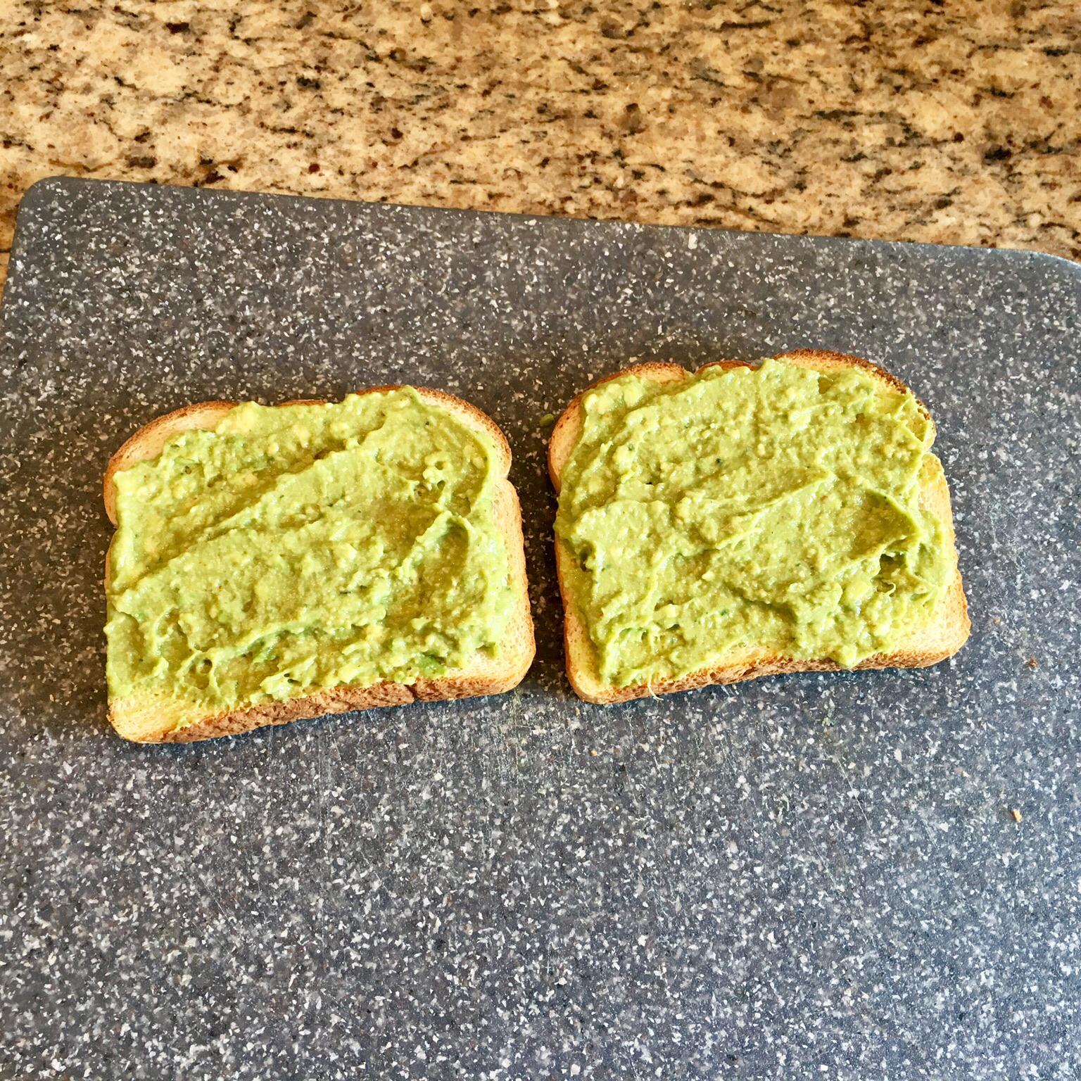 Meyer Lemon Avocado Toast