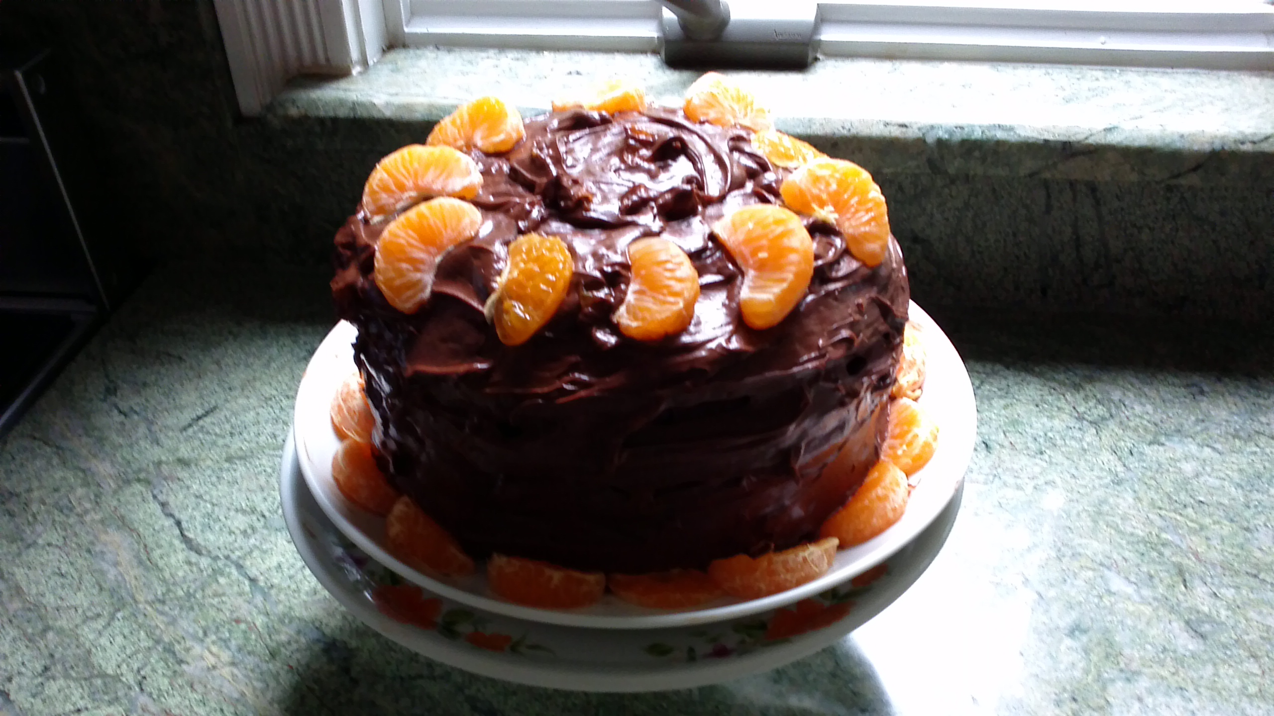 Chocolate Clementine Cake BabkaGal