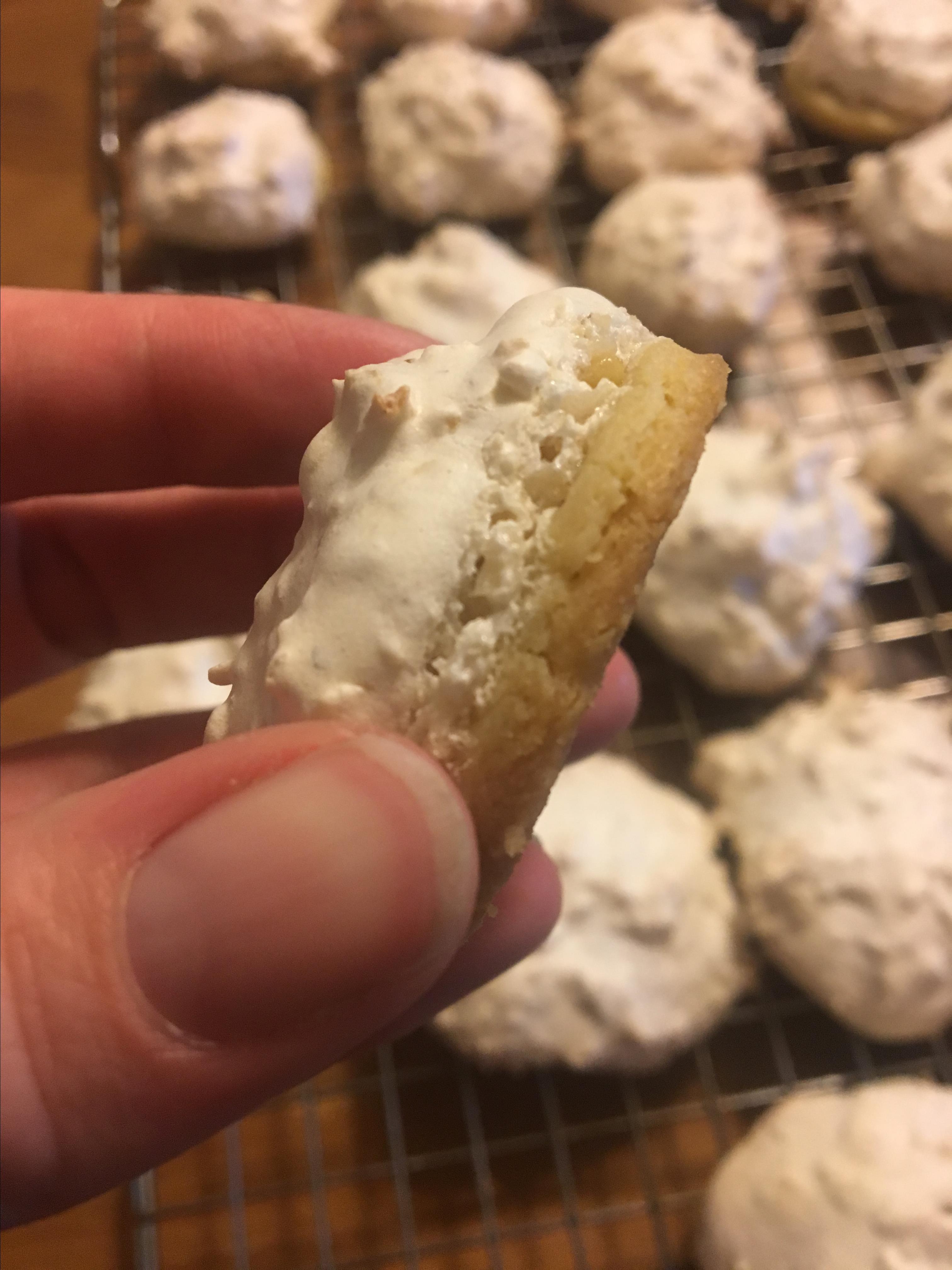 Ukrainian Snow Cap Cookies
