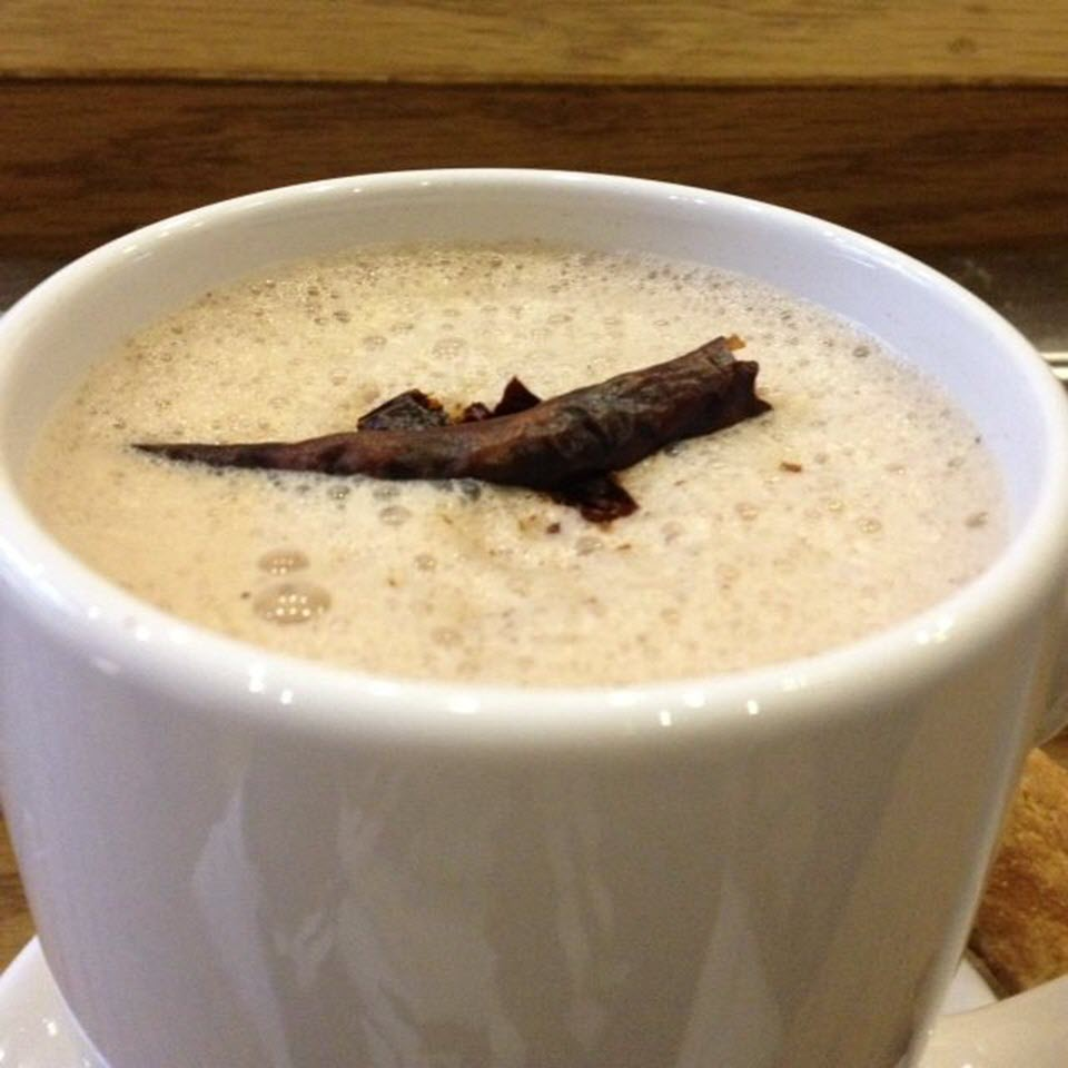 Authentic Mexican Hot Chocolate with Chile gem