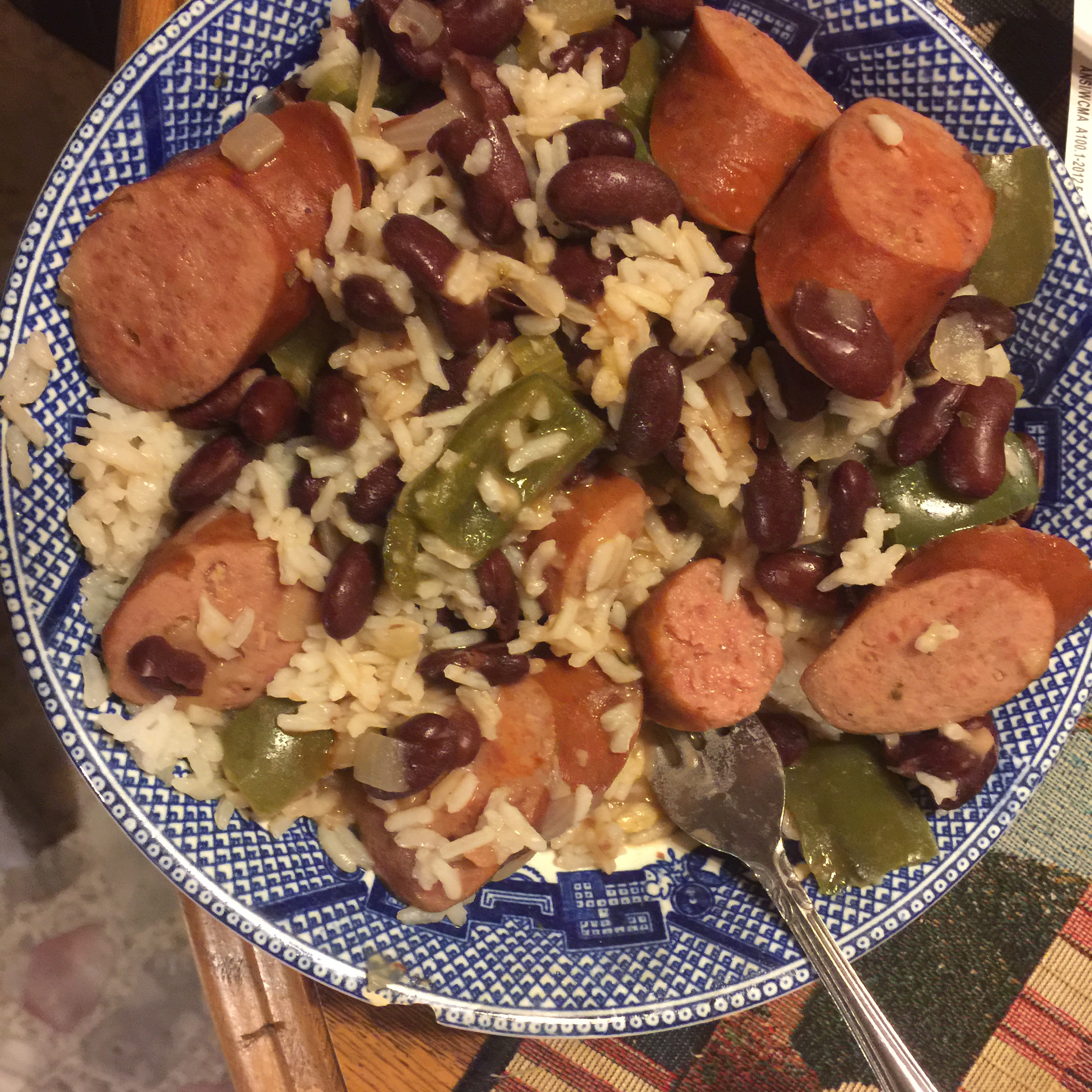 Red Beans and Rice from Hillshire Farm® Johnathan West