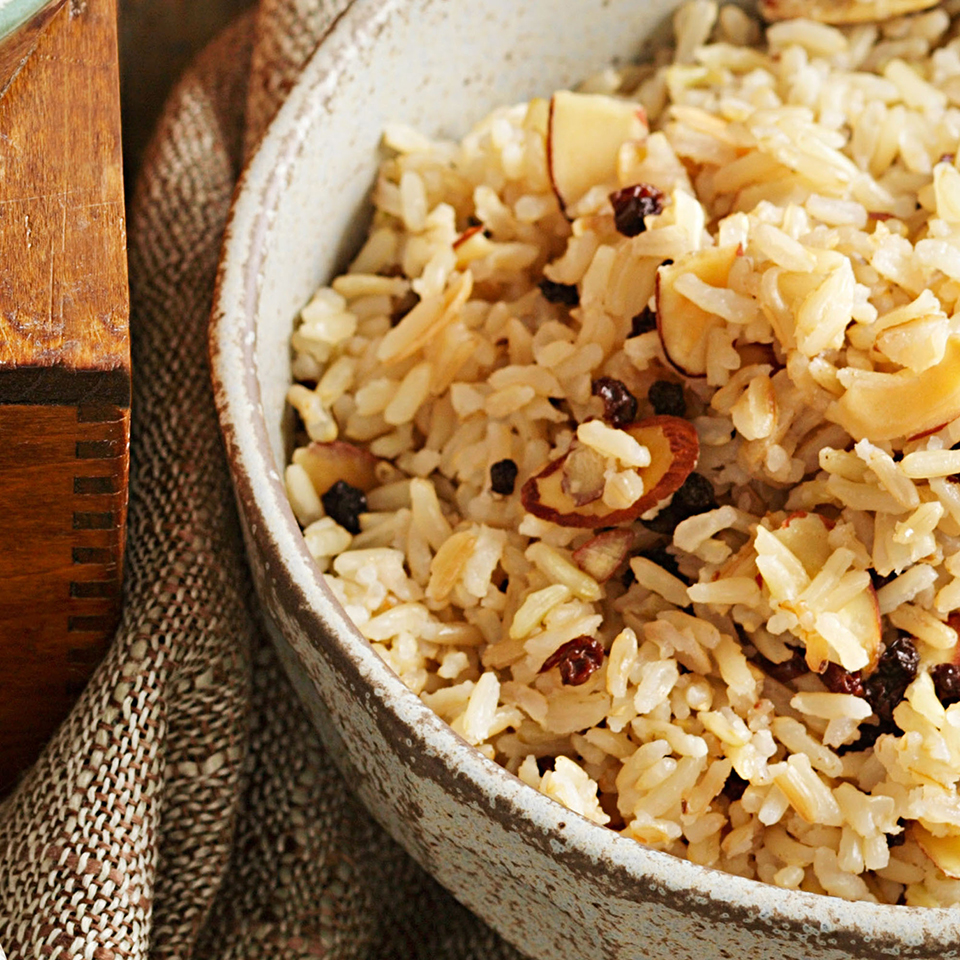 Brown Rice Pilaf EatingWell Test Kitchen