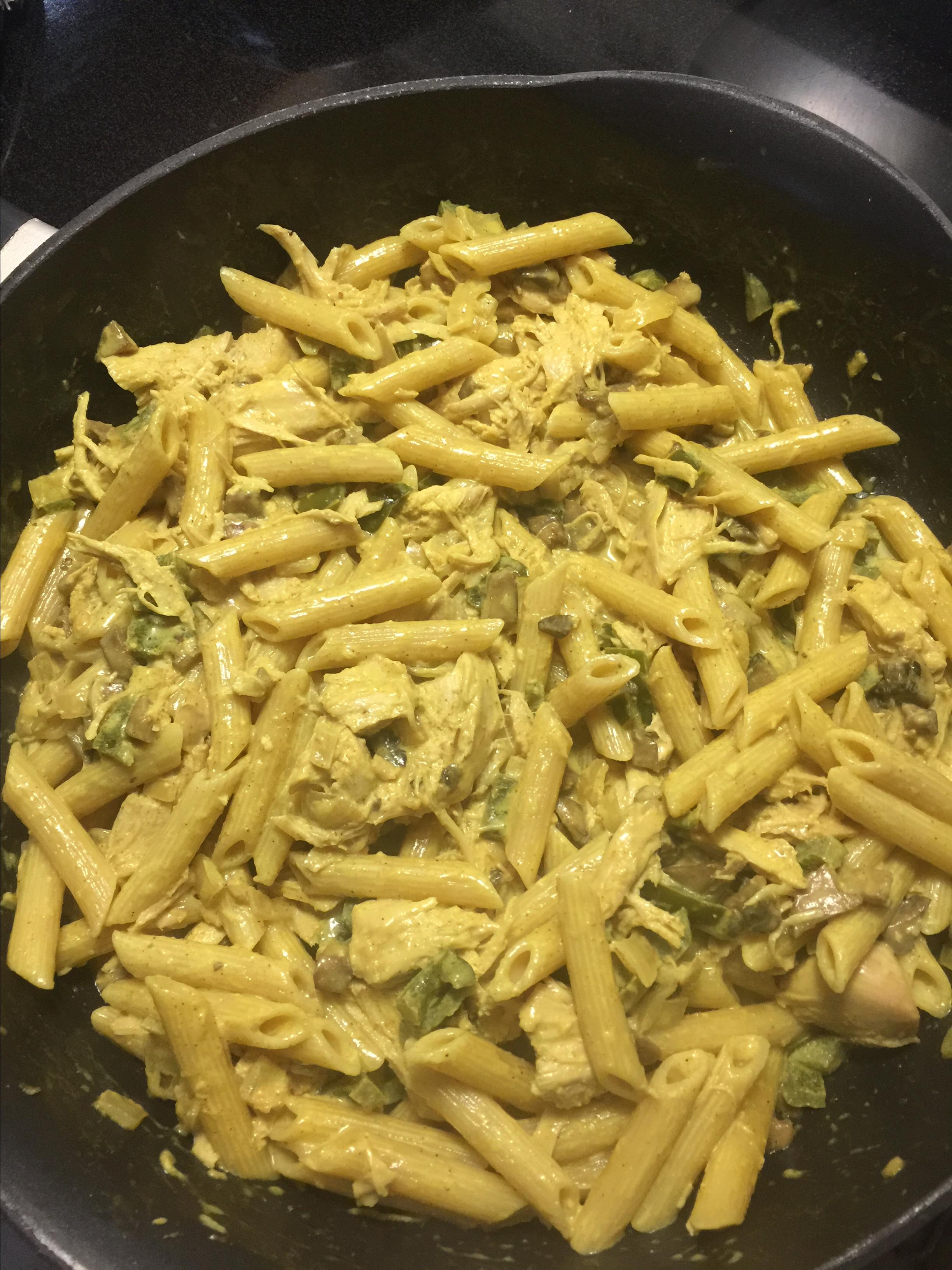 Maple Curry Penne Melissa Gracie