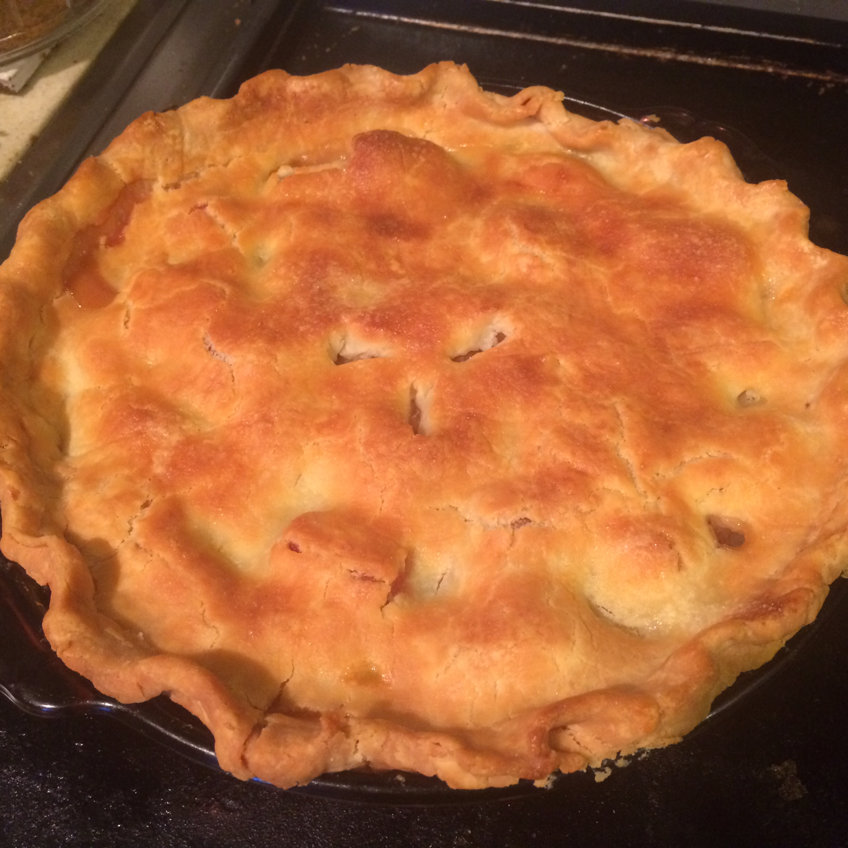 Pineapple-Rhubarb Pie tanya