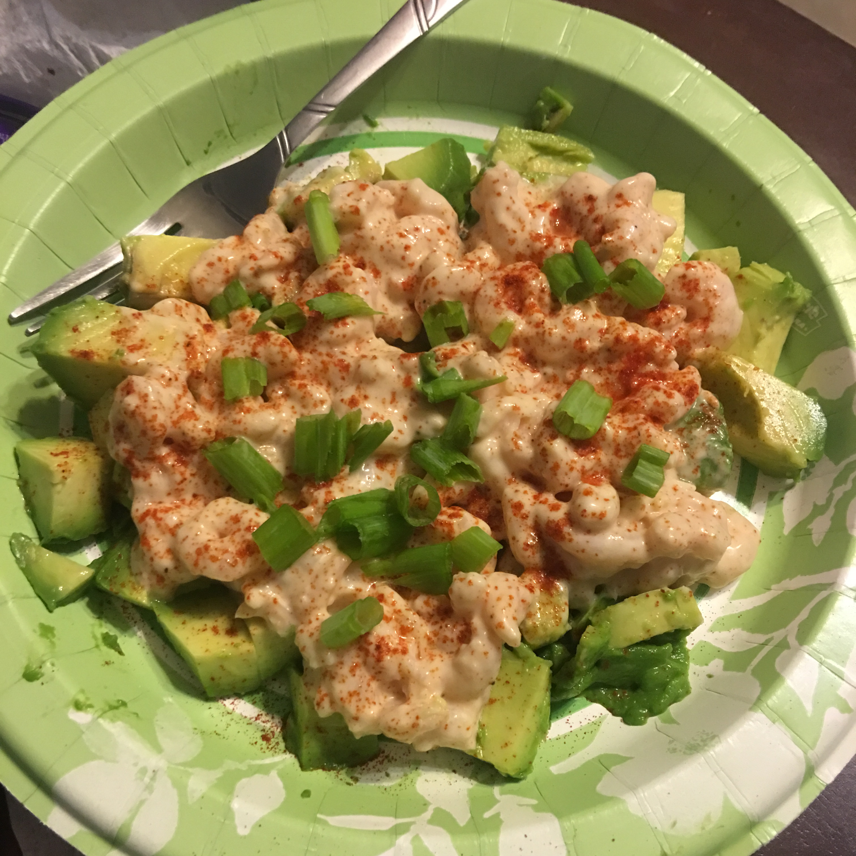 Shrimp and Avocado Salad kayla