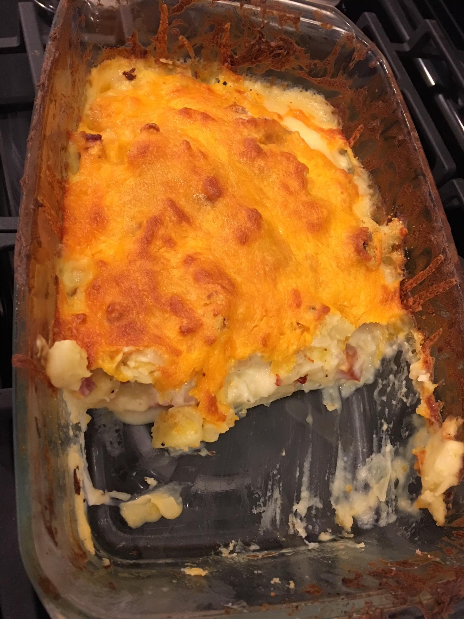 Leftover Ham -n- Potato Casserole Brandon Coll