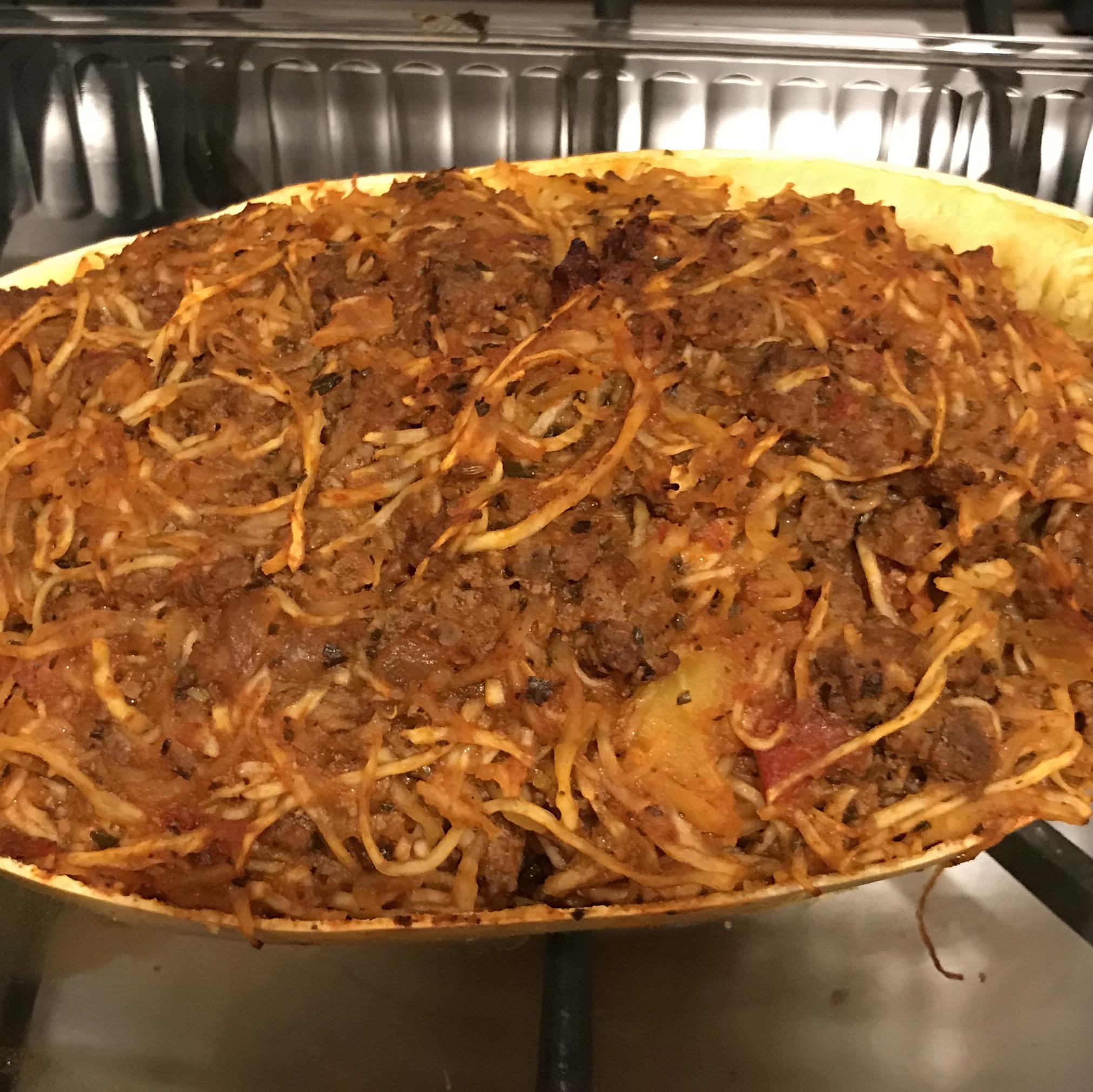 Paleo Spaghetti Squash Primavera Sabrina Gegner