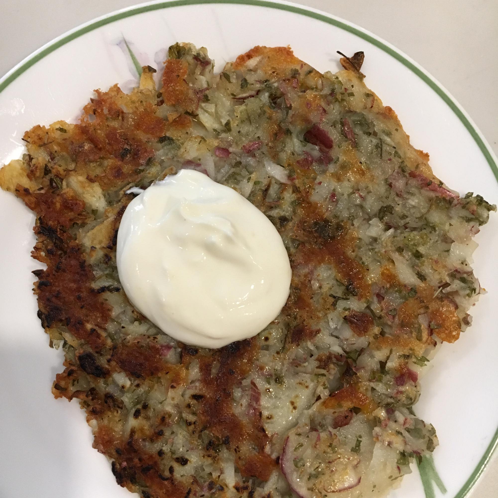 Herbed Potato Rosti