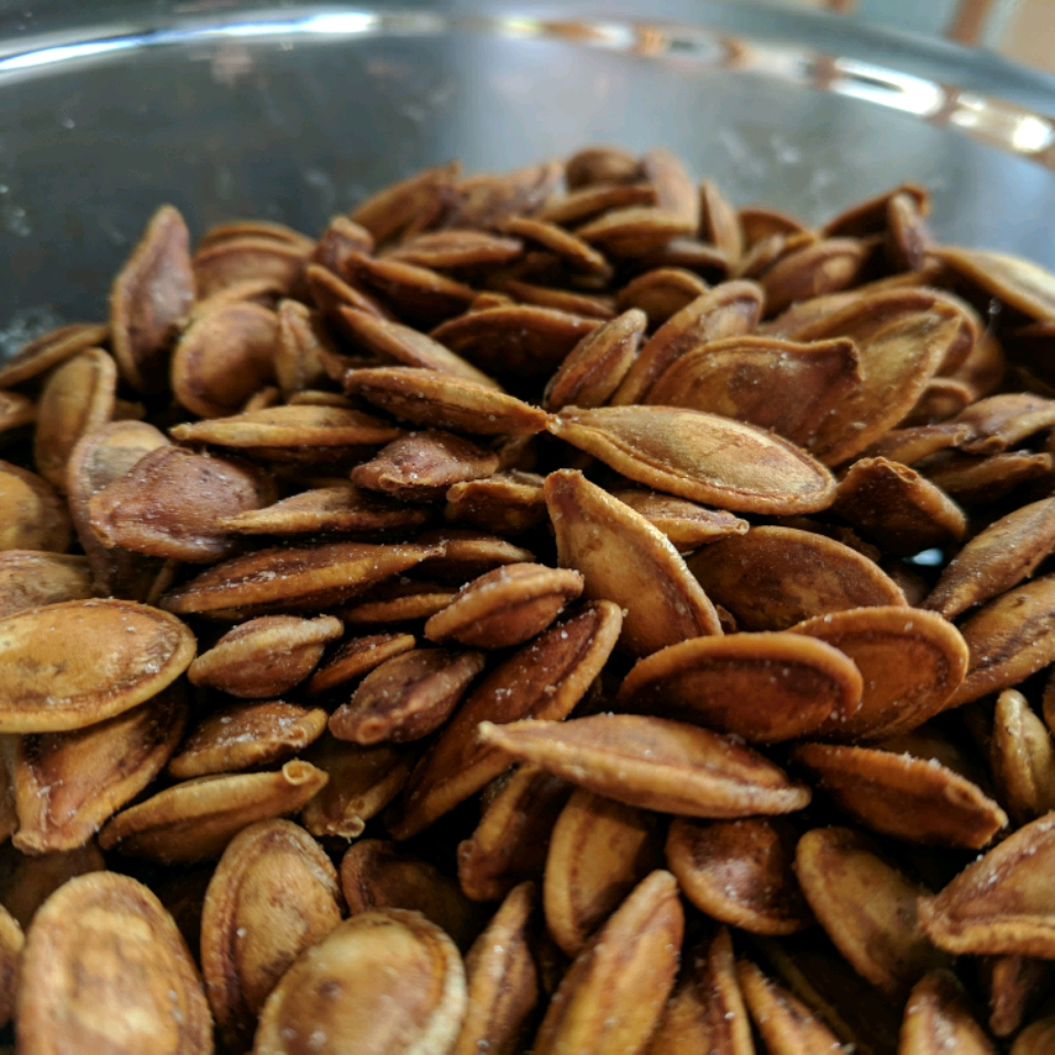 Spiced Pumpkin Seeds Carol