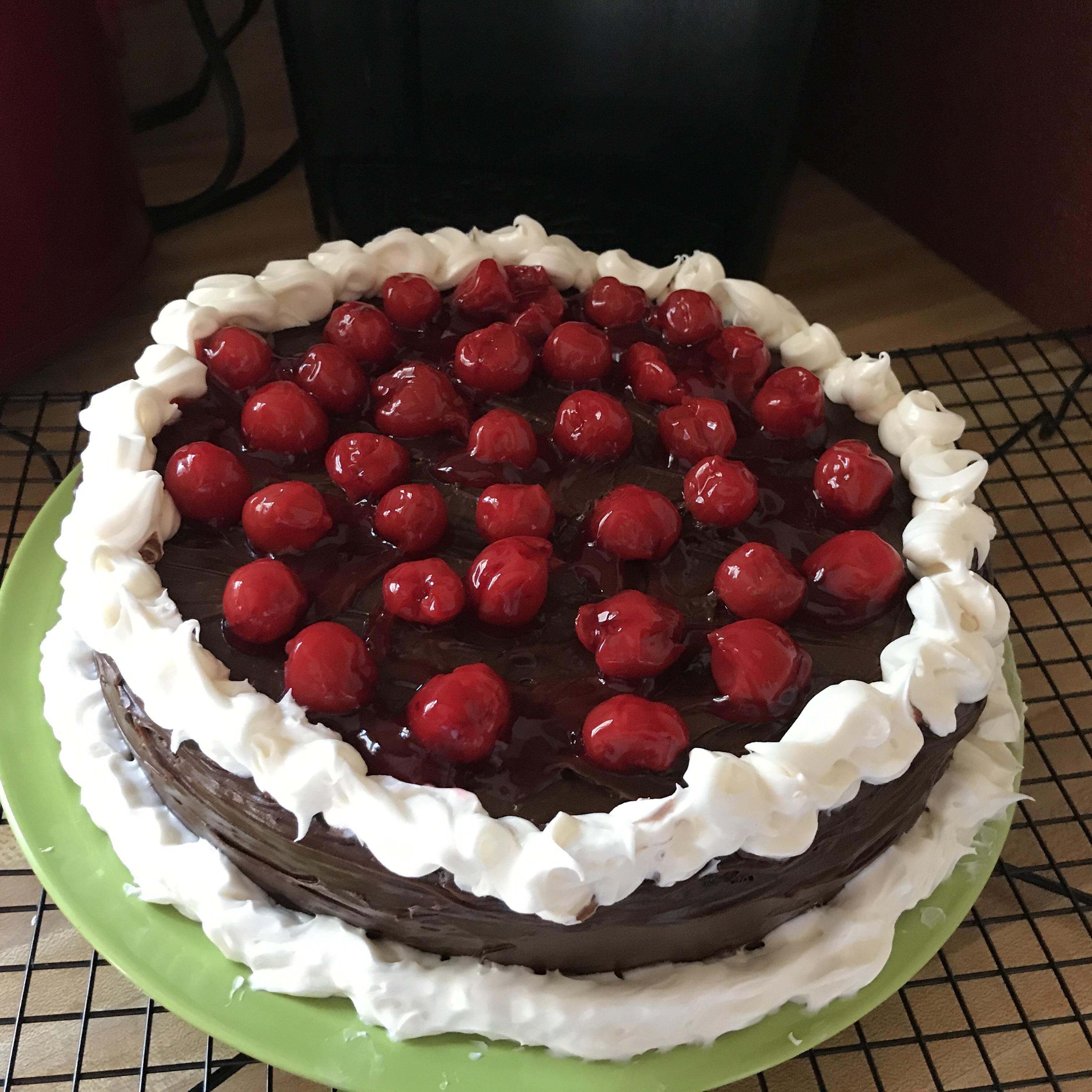 Quick Black Forest Cake Melissa Dervin
