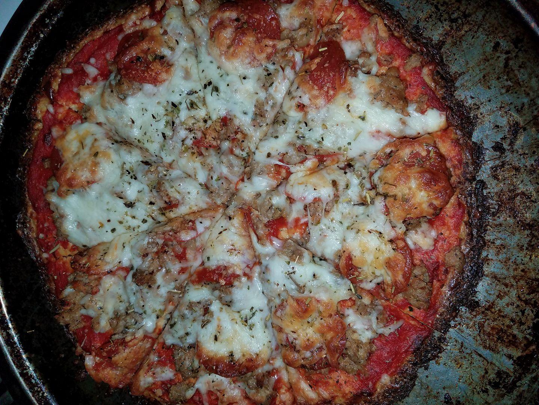 Cauliflower Pizza Crust from Green Giant® Cynthia Van Dyck