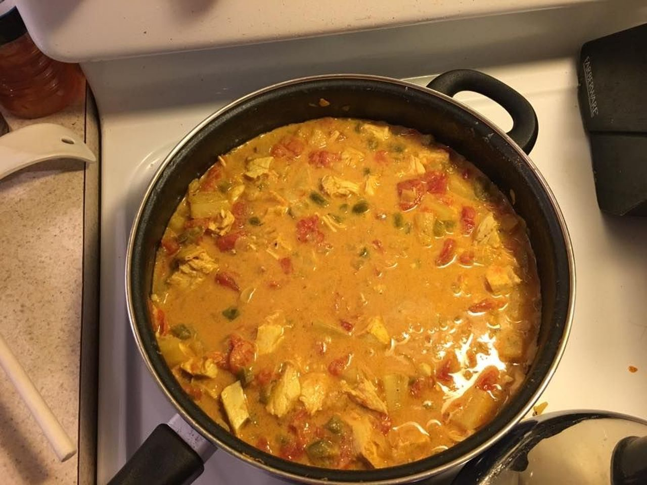 Jamaican Style Curry Chicken fogette