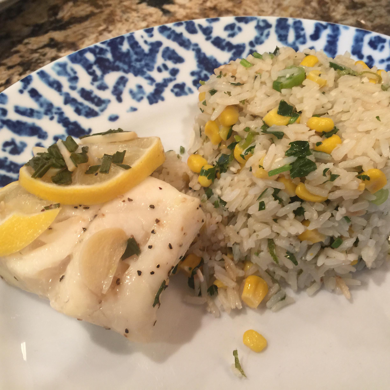 Easy Cilantro-Lime Rice Patrick Farley