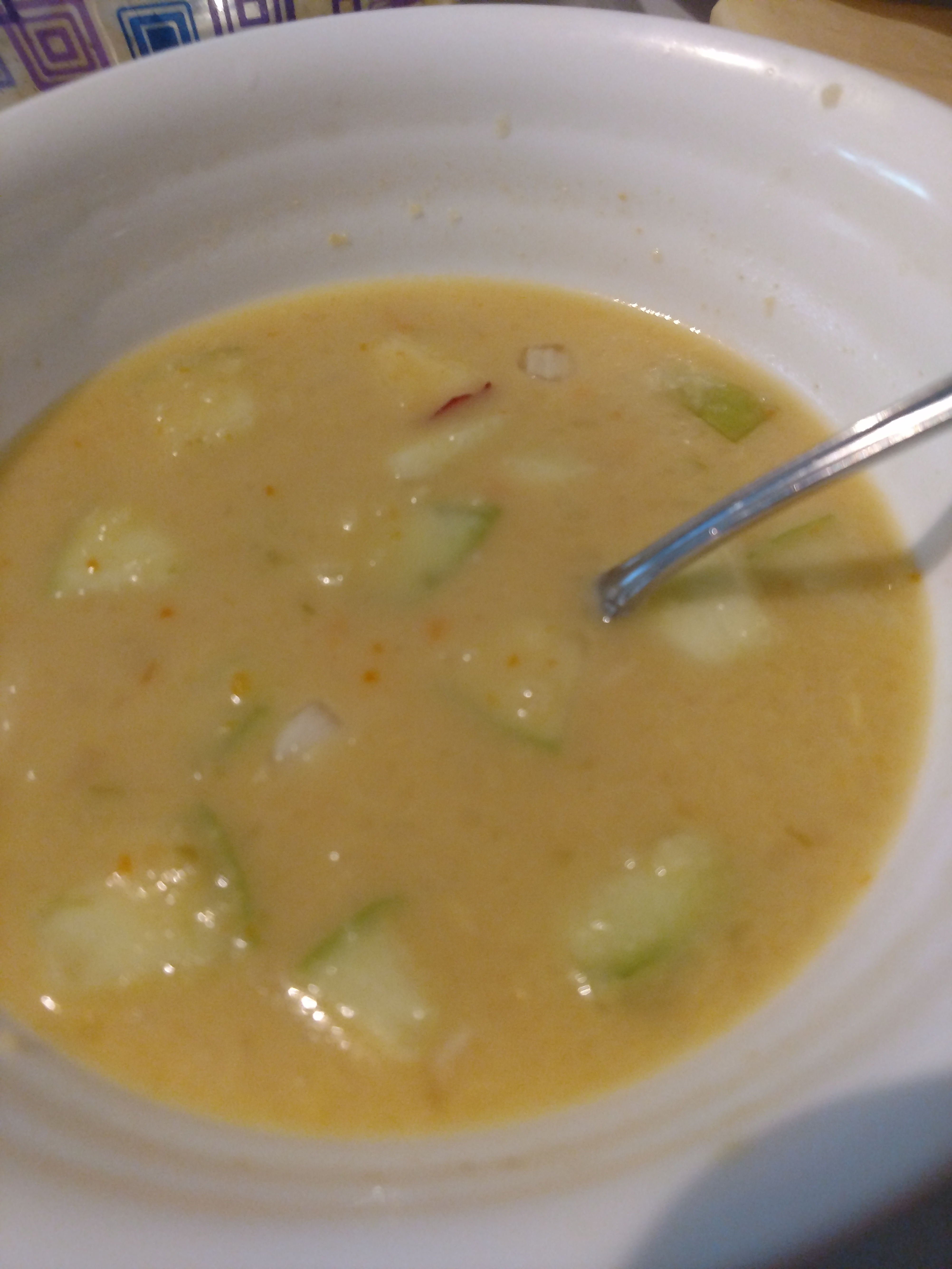 Cheddar Apple Soup Chris D. Williams