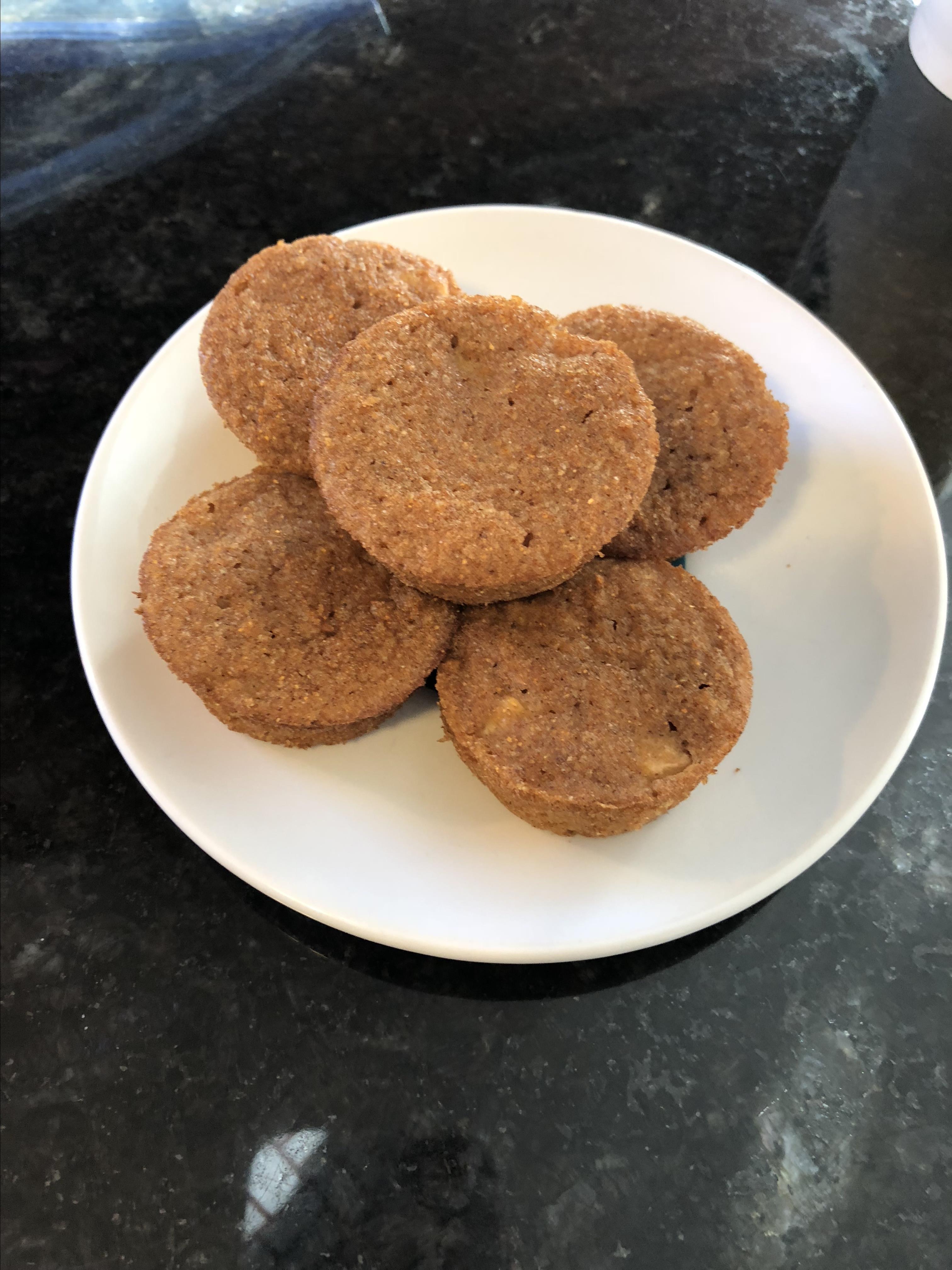 Whole Wheat Apple Cider Bran Mini Muffins
