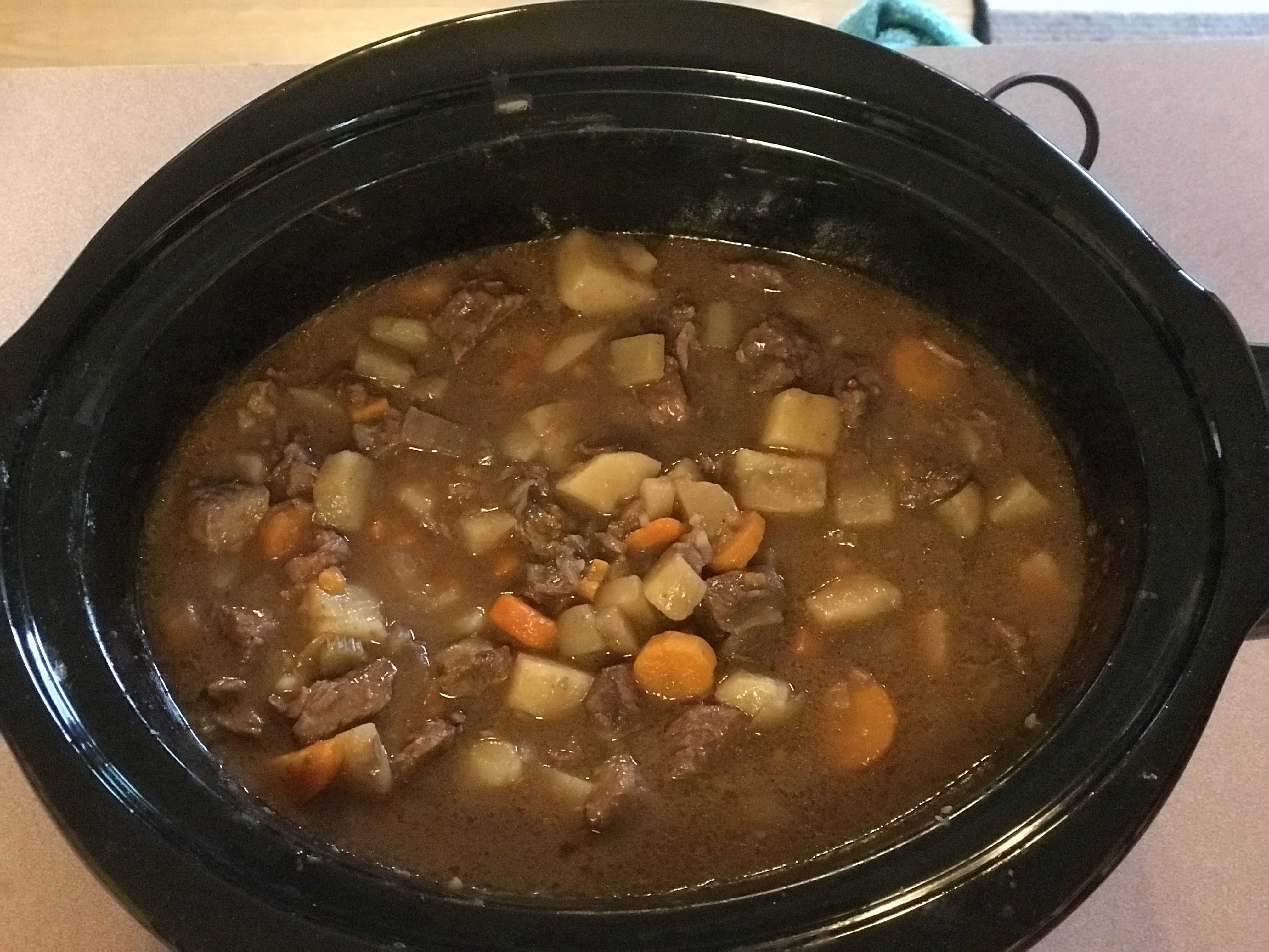 Slow Cooker Beef Stew I ron