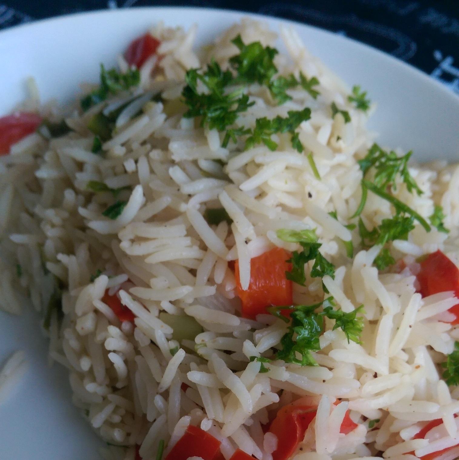 Green Pepper Rice Irene Y