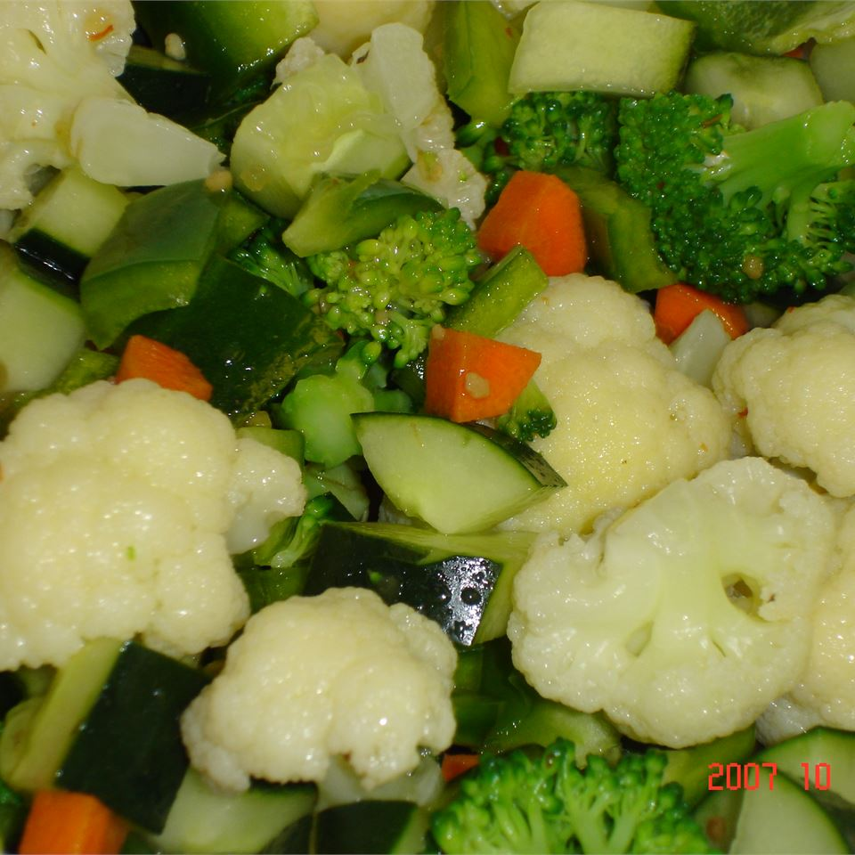 Easy Marinated Vegetables MOLLE888