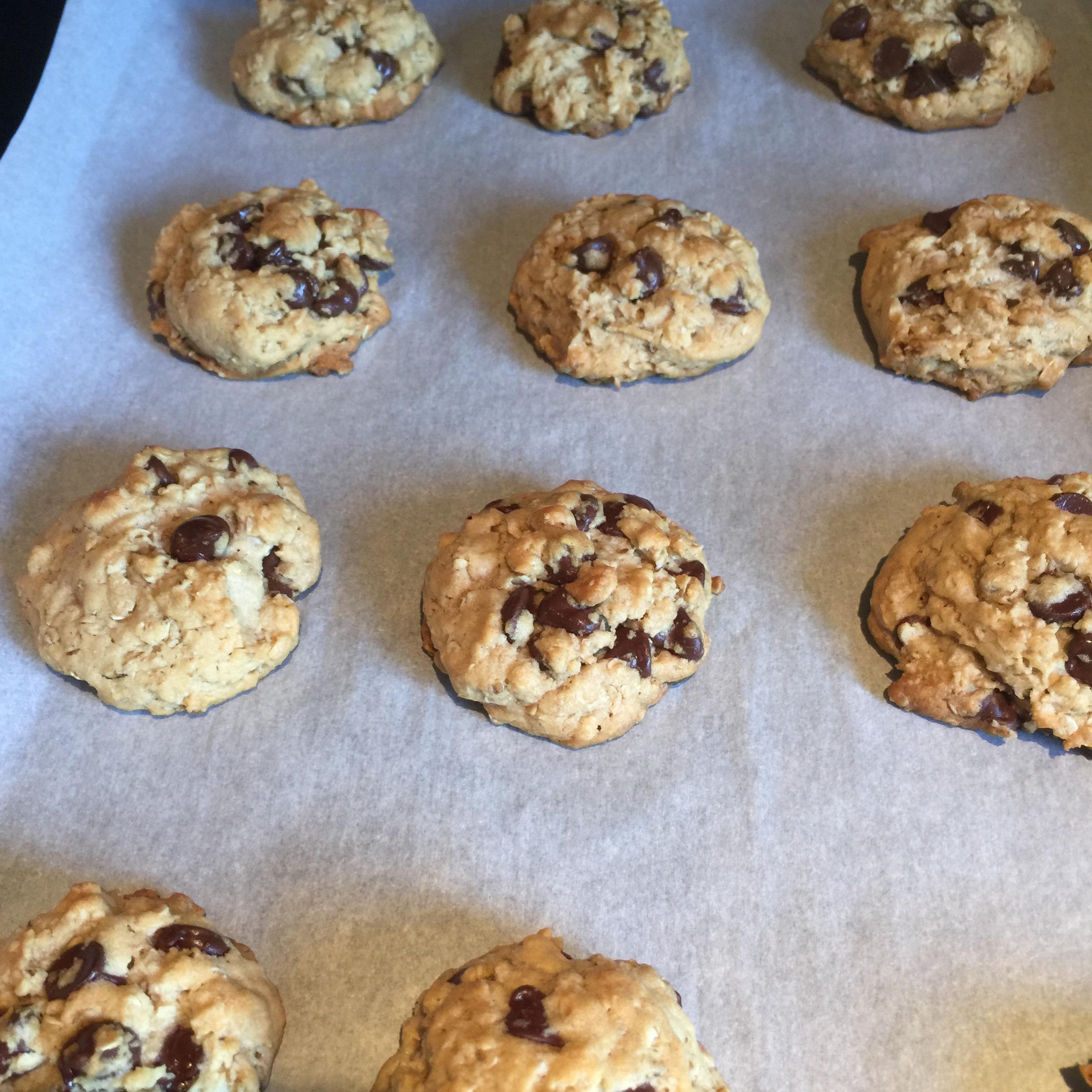 Oatmeal Chocolate Chip Cookies III