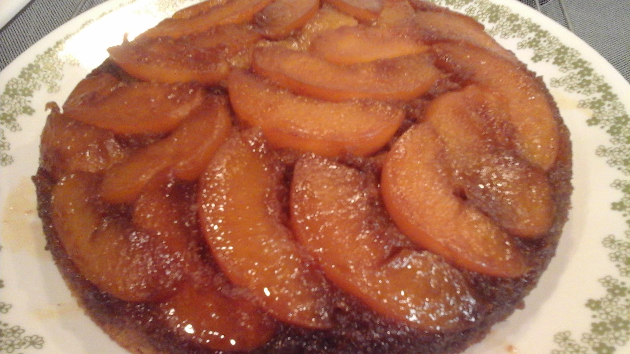 Peach Upside-Down Cake III SHRLYANN