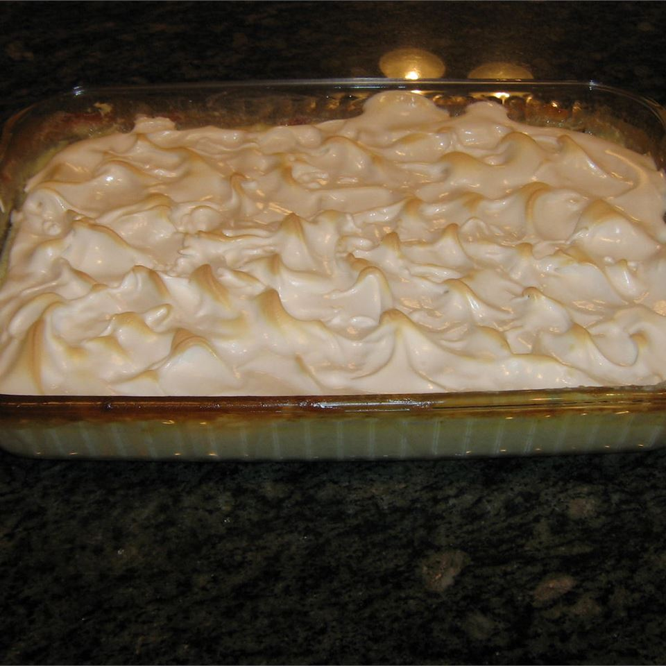 Grandma's Baked Rice Pudding with Meringue STACYEMT1