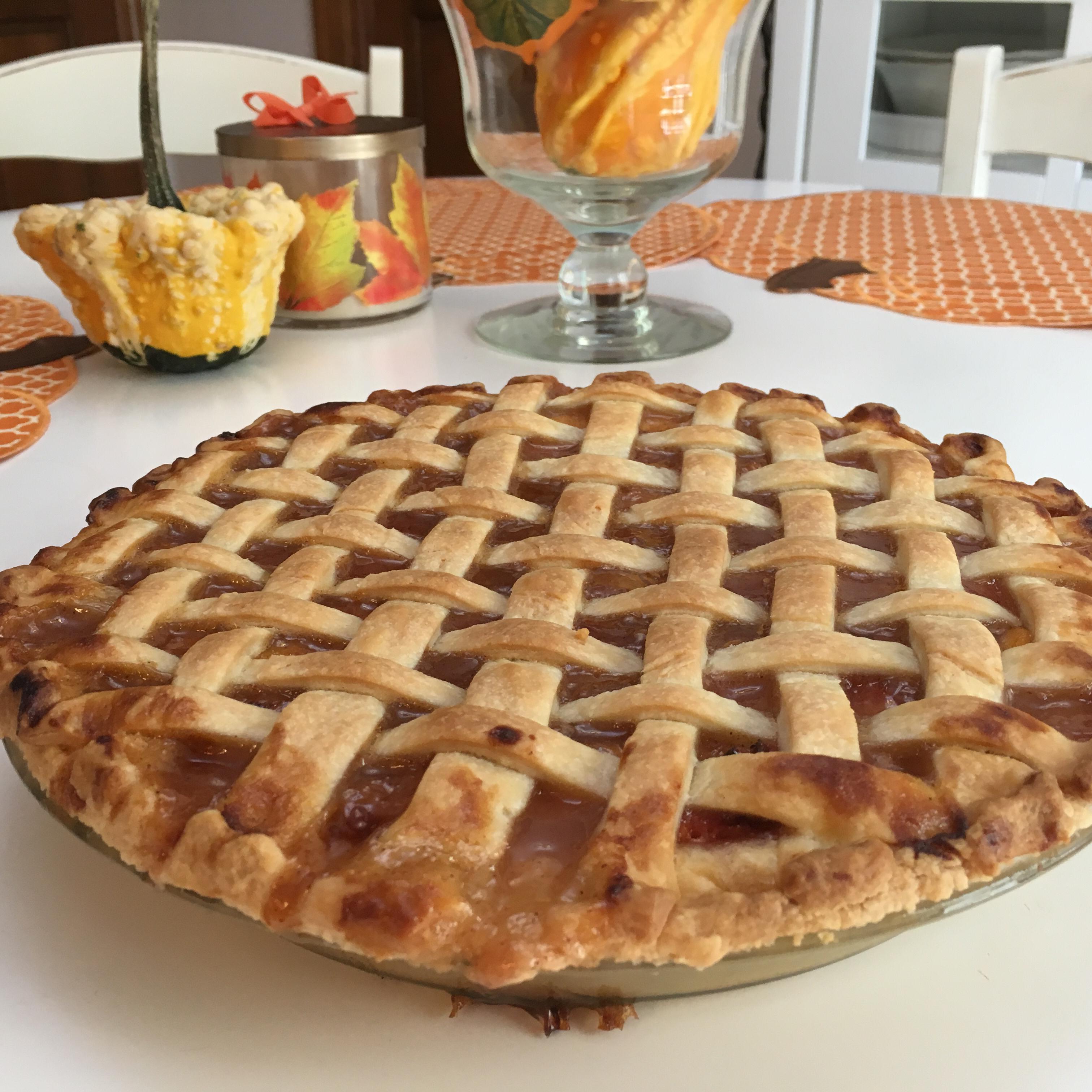 Honey Peach Pie David Strzempek