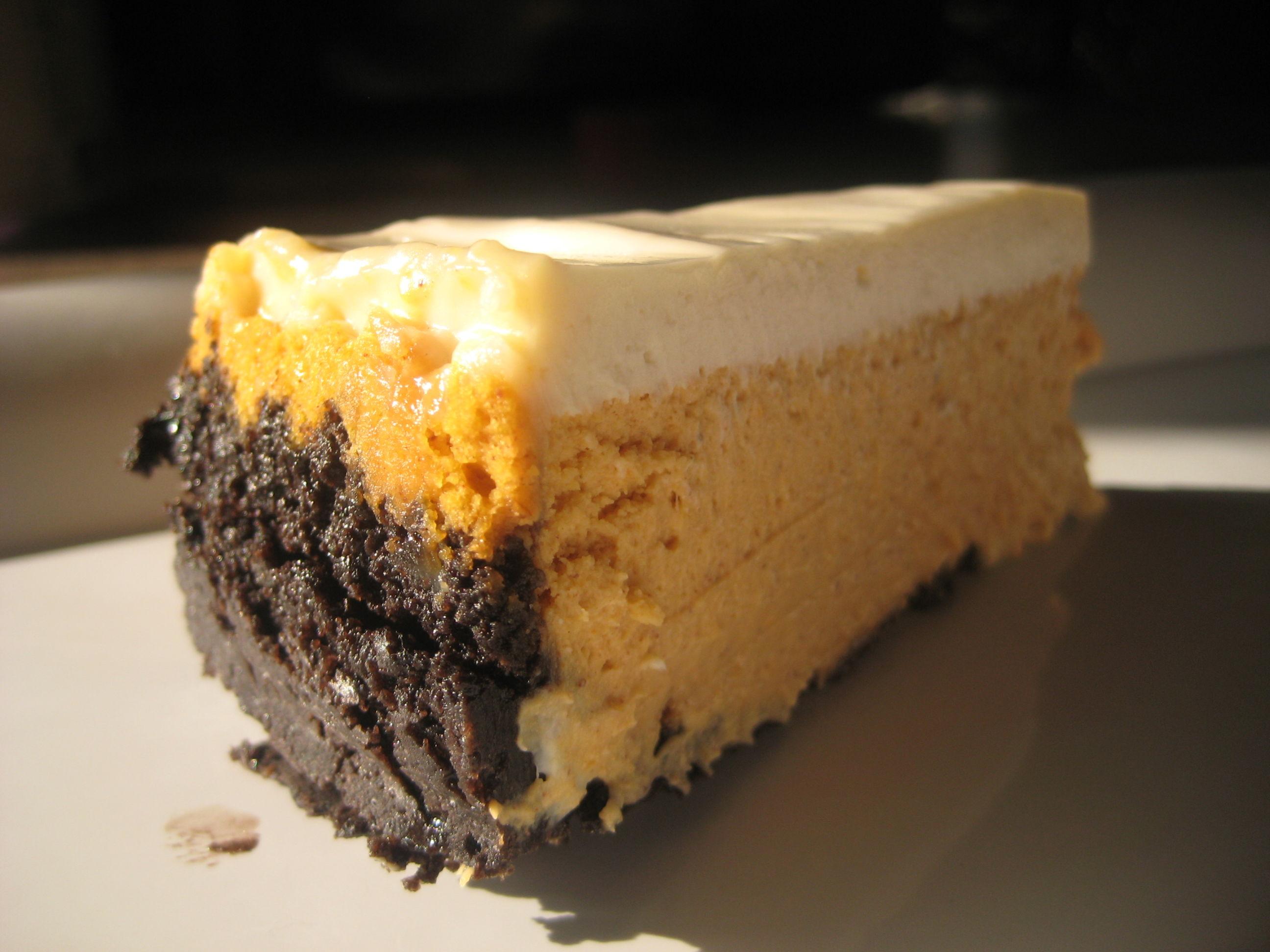 Spiderweb Pumpkin Cheesecake AllrecipesPhoto