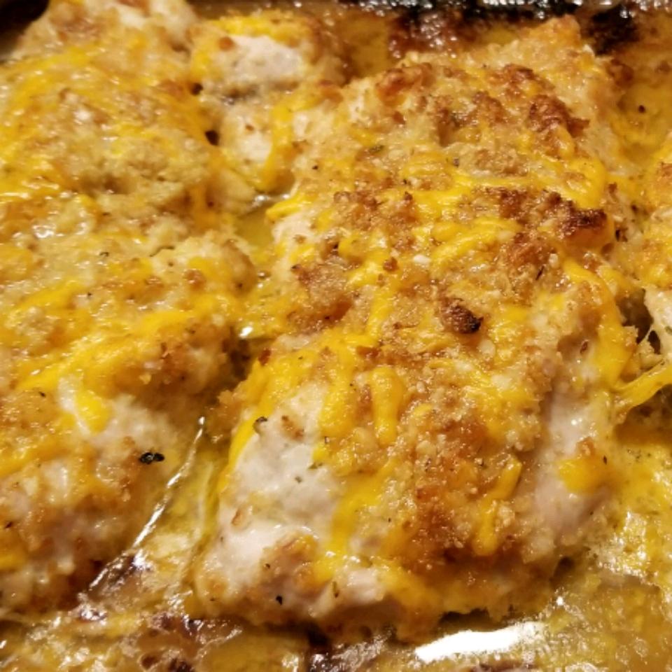 Garlic Cheddar Chicken melanie