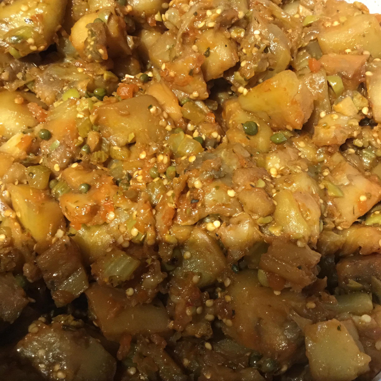 Eggplant Caponata (Sicilian Version) Cindy Gerstenmaier Fotusky