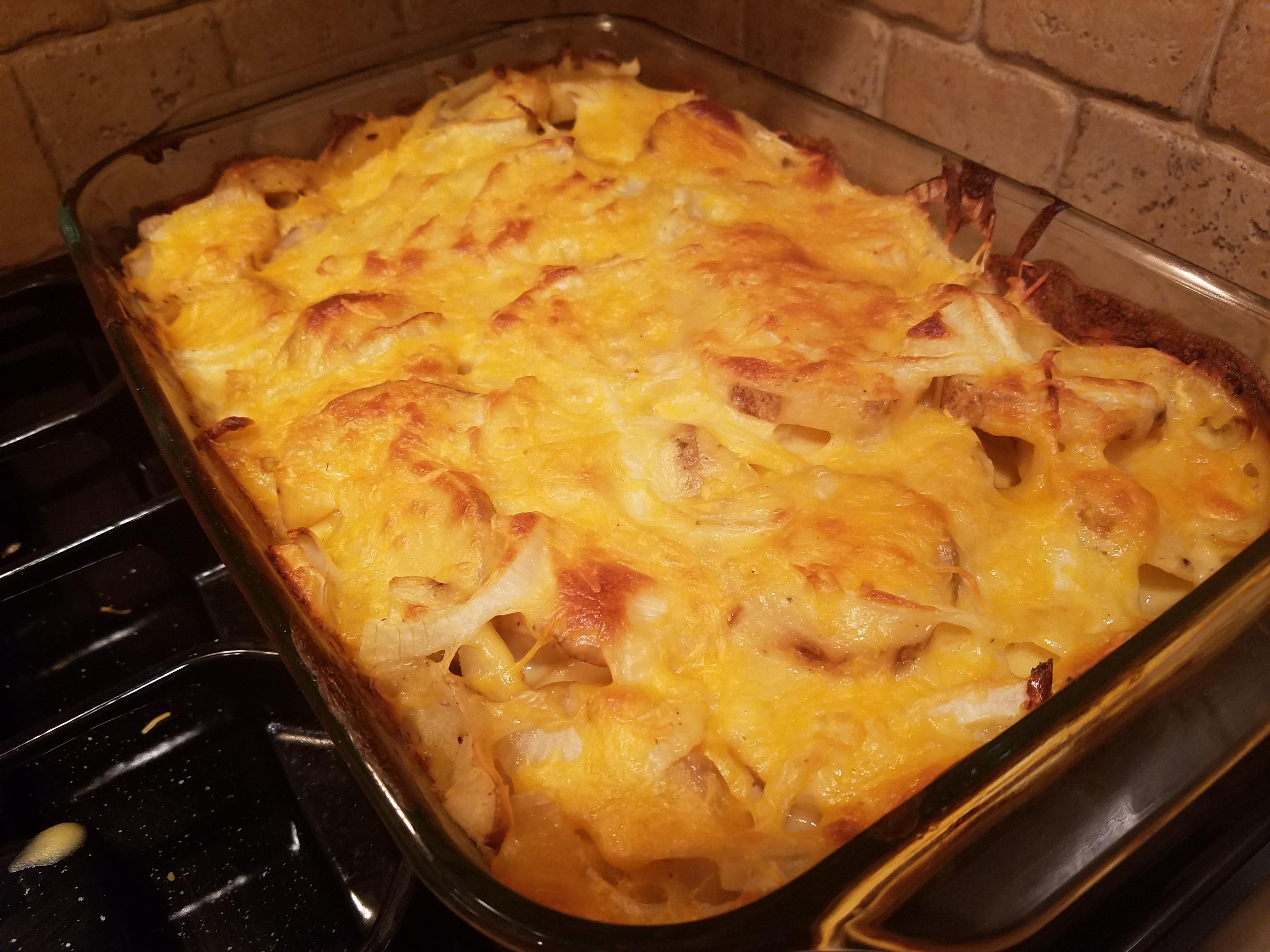 Healthier Creamy Au Gratin Potatoes Solimar Caban-Ritchie