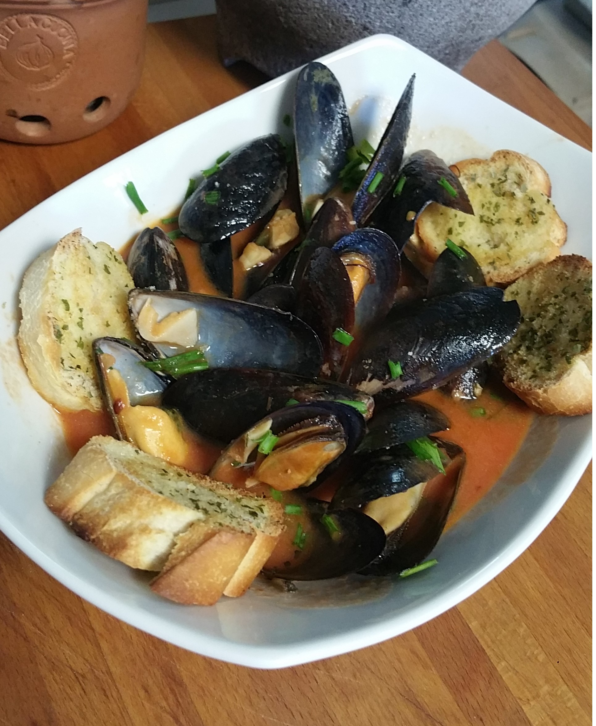 Appetizer Mussels Sahara B