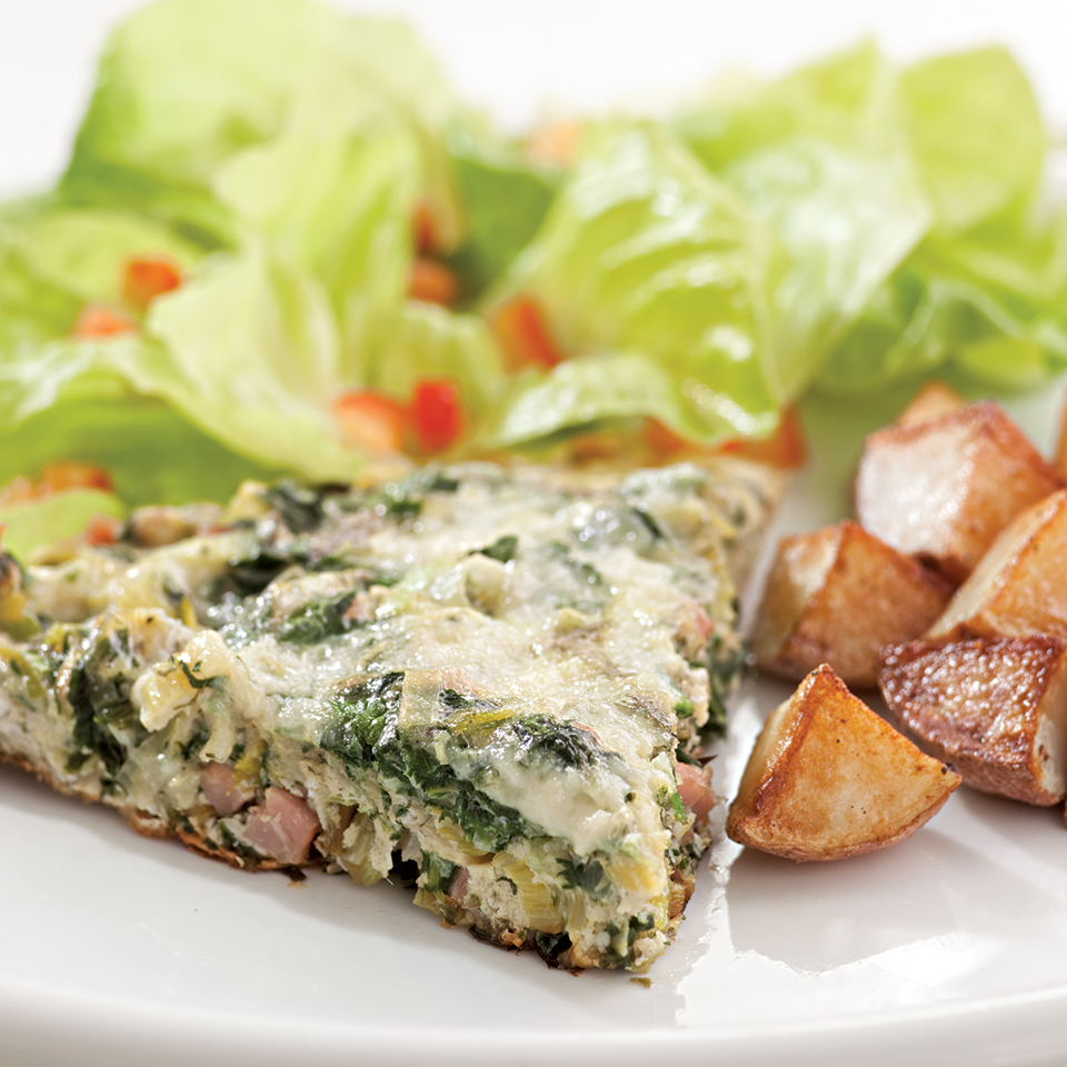 Green Eggs & Ham Frittata EatingWell Test Kitchen