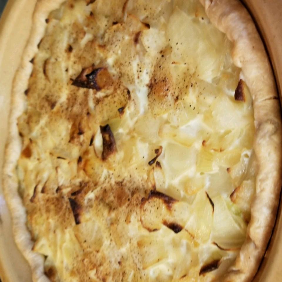 German Zwiebelkuchen (Onion Pie)