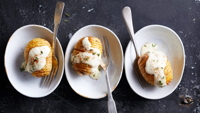 Scalloped Hasselback Potatoes Trusted Brands