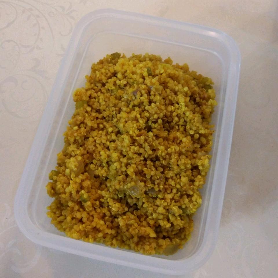 Curried Quinoa