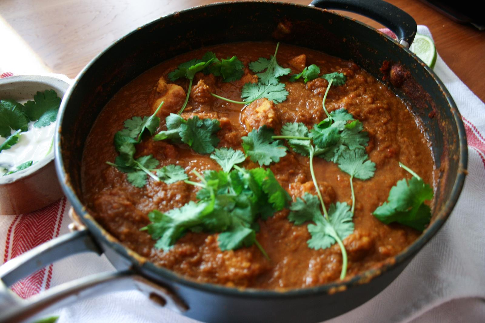 Easy Chicken Madras Recipe
