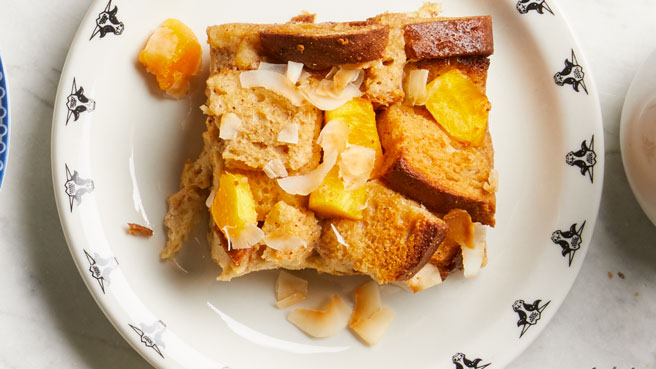 Mango-Coconut Overnight French Toast Trusted Brands