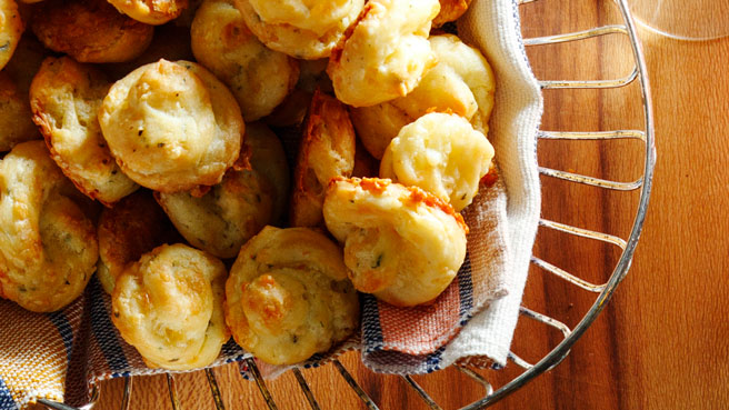 Herb & Cheddar Gougères Allrecipes Trusted Brands