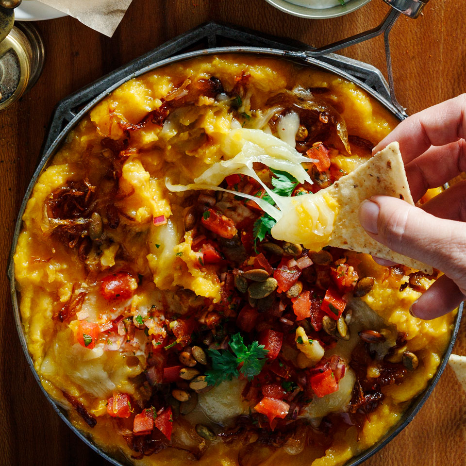 Butternut Squash Queso Fundido Katie Webster