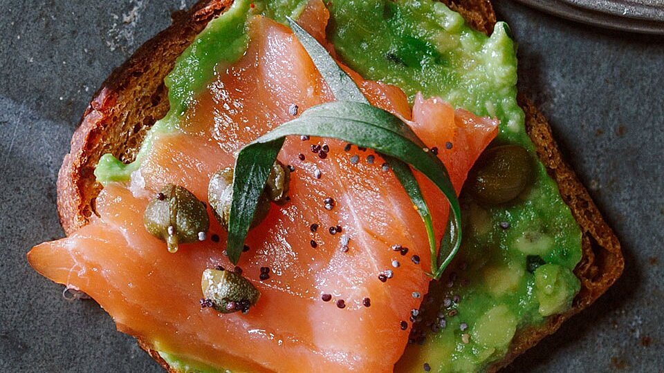 Salmon Avocado Toasts Recipe Eating well