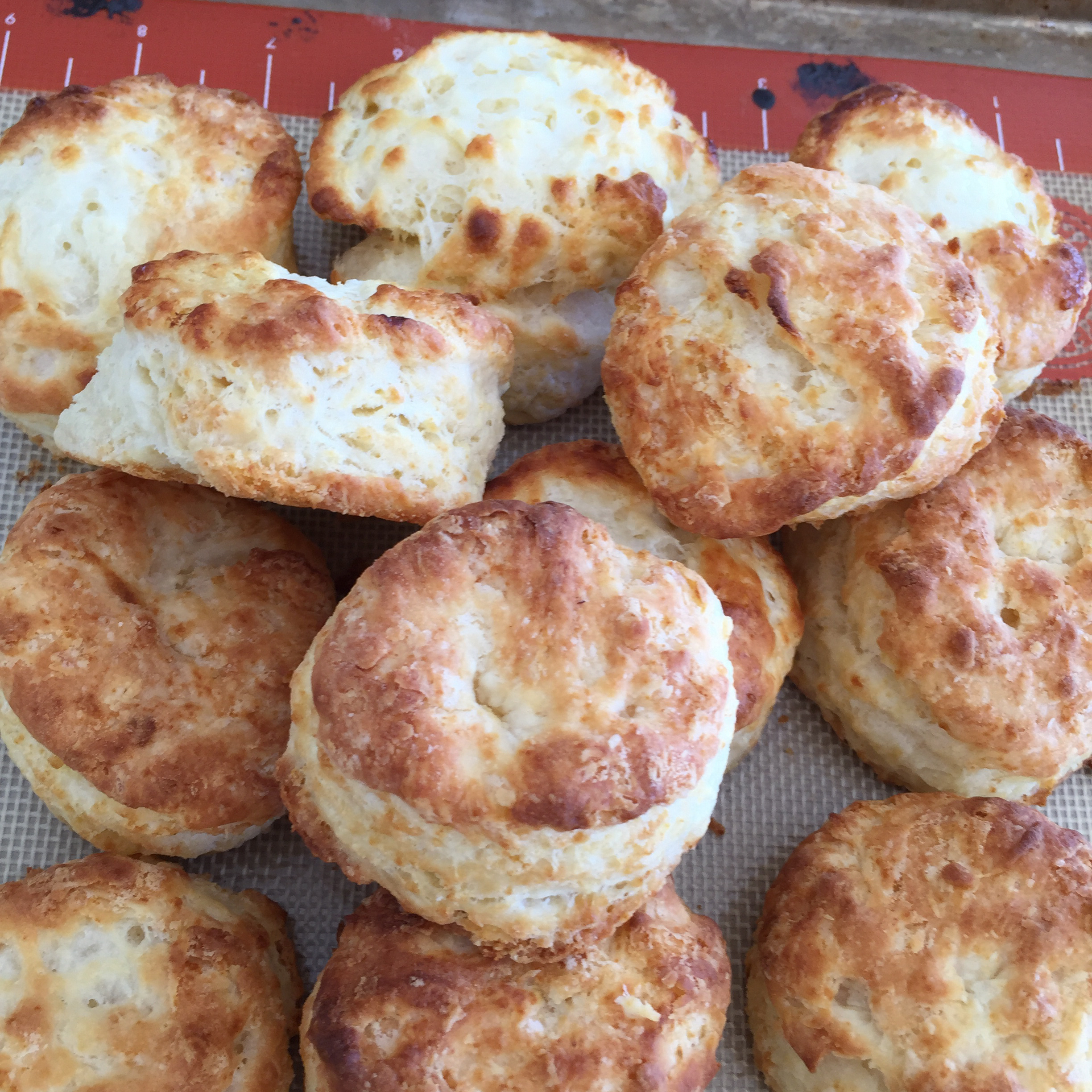 Sadie's Buttermilk Biscuits huntersand archers yiayia